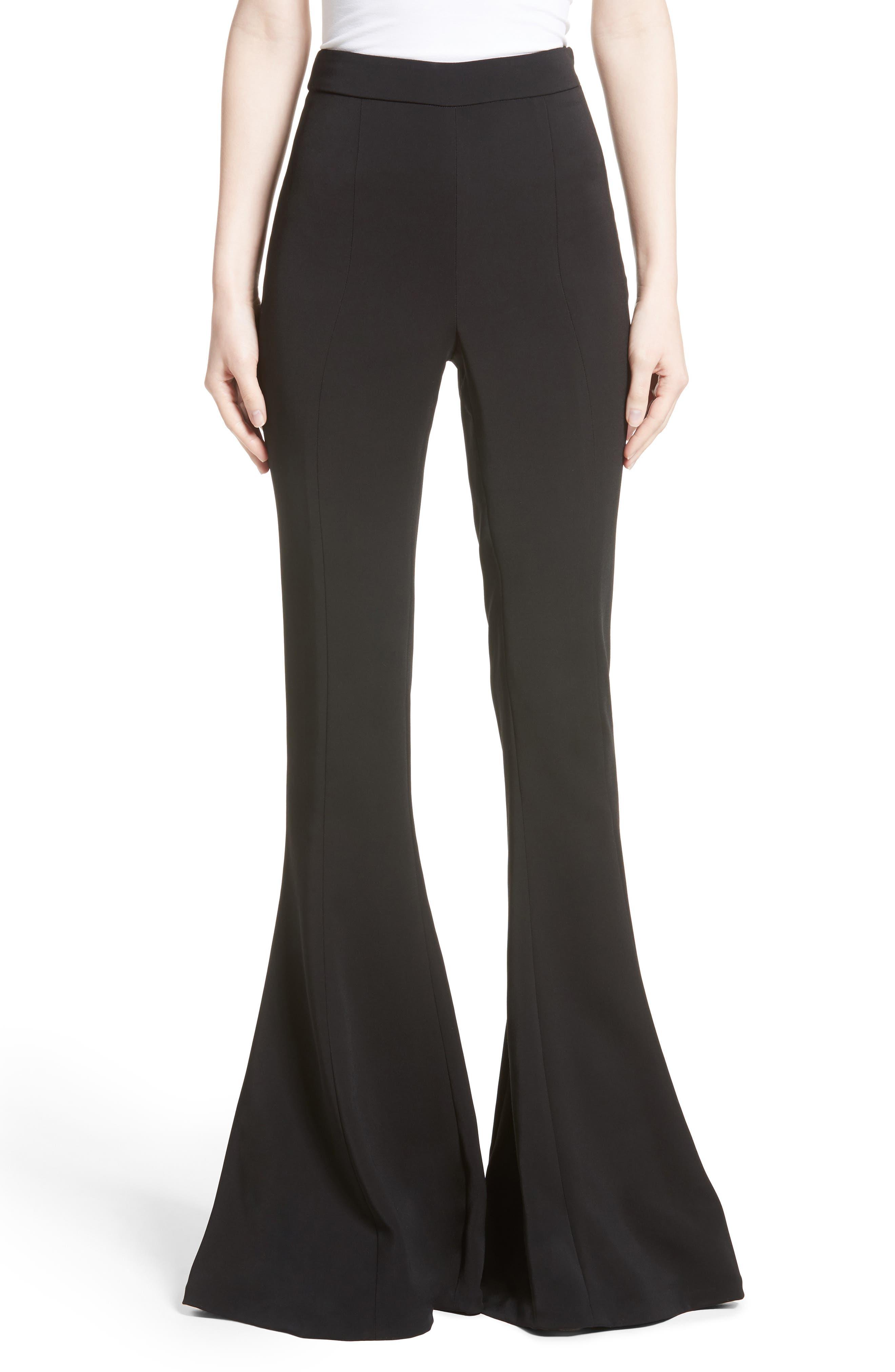 Naomi High Waist Flare Pants,                         Main,                         color, 001
