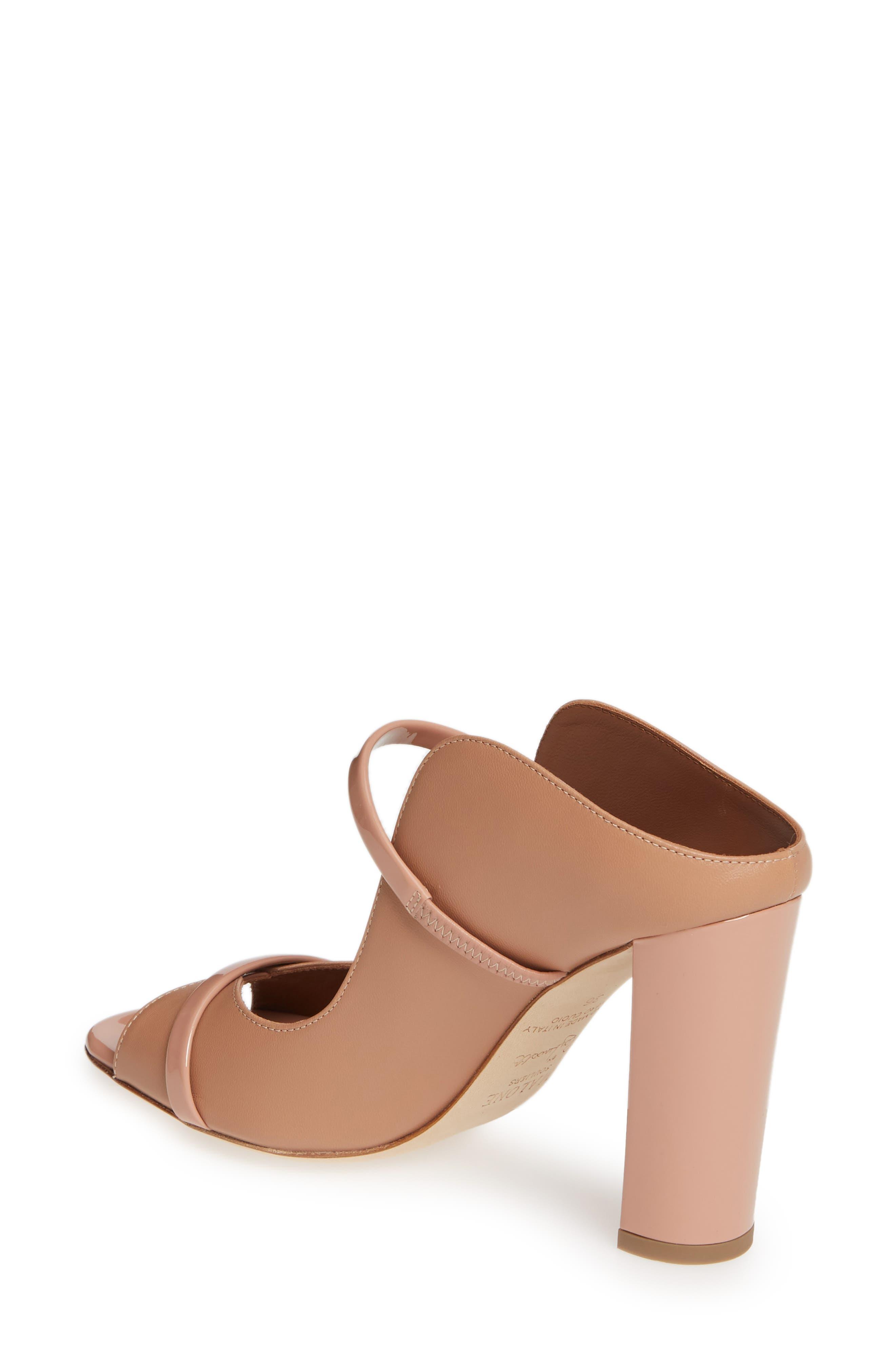 MALONE SOULIERS,                             Norah Block Heel Sandal,                             Alternate thumbnail 2, color,                             NUDE/ BLUSH