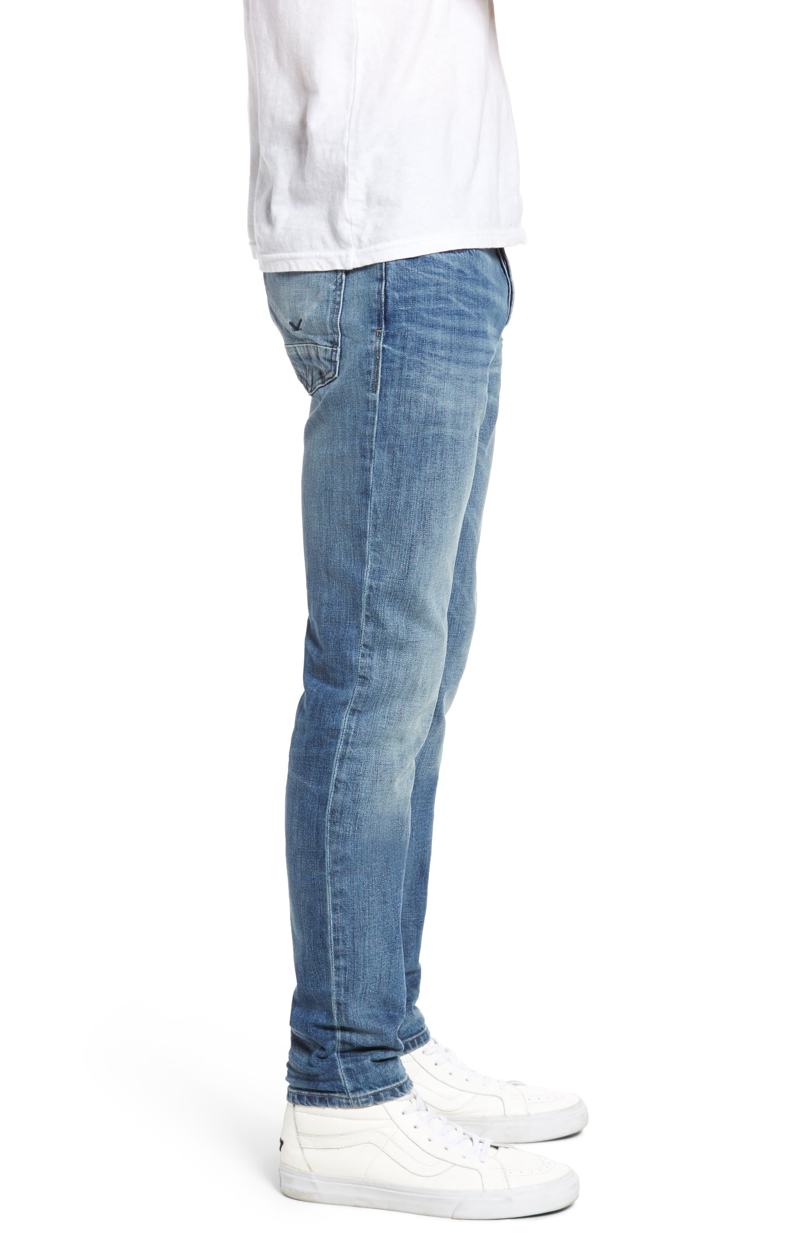 Axl Skinny Fit Jeans,                             Alternate thumbnail 3, color,                             RACKING