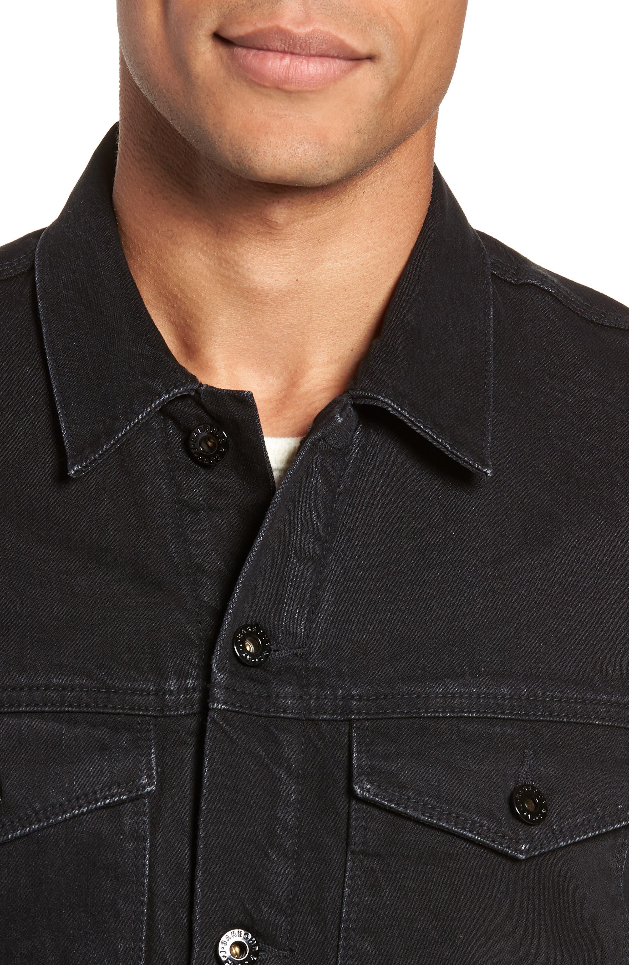 International Nimbus Denim Jacket,                             Alternate thumbnail 4, color,                             001