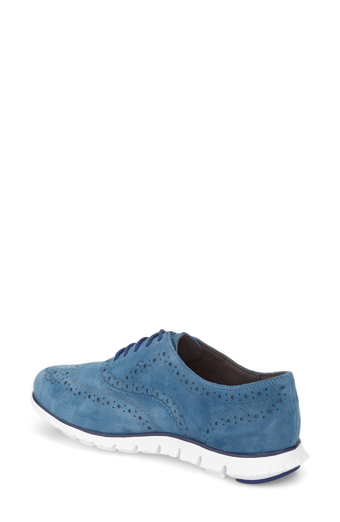 'ZeroGrand' Perforated Wingtip,                             Alternate thumbnail 52, color,