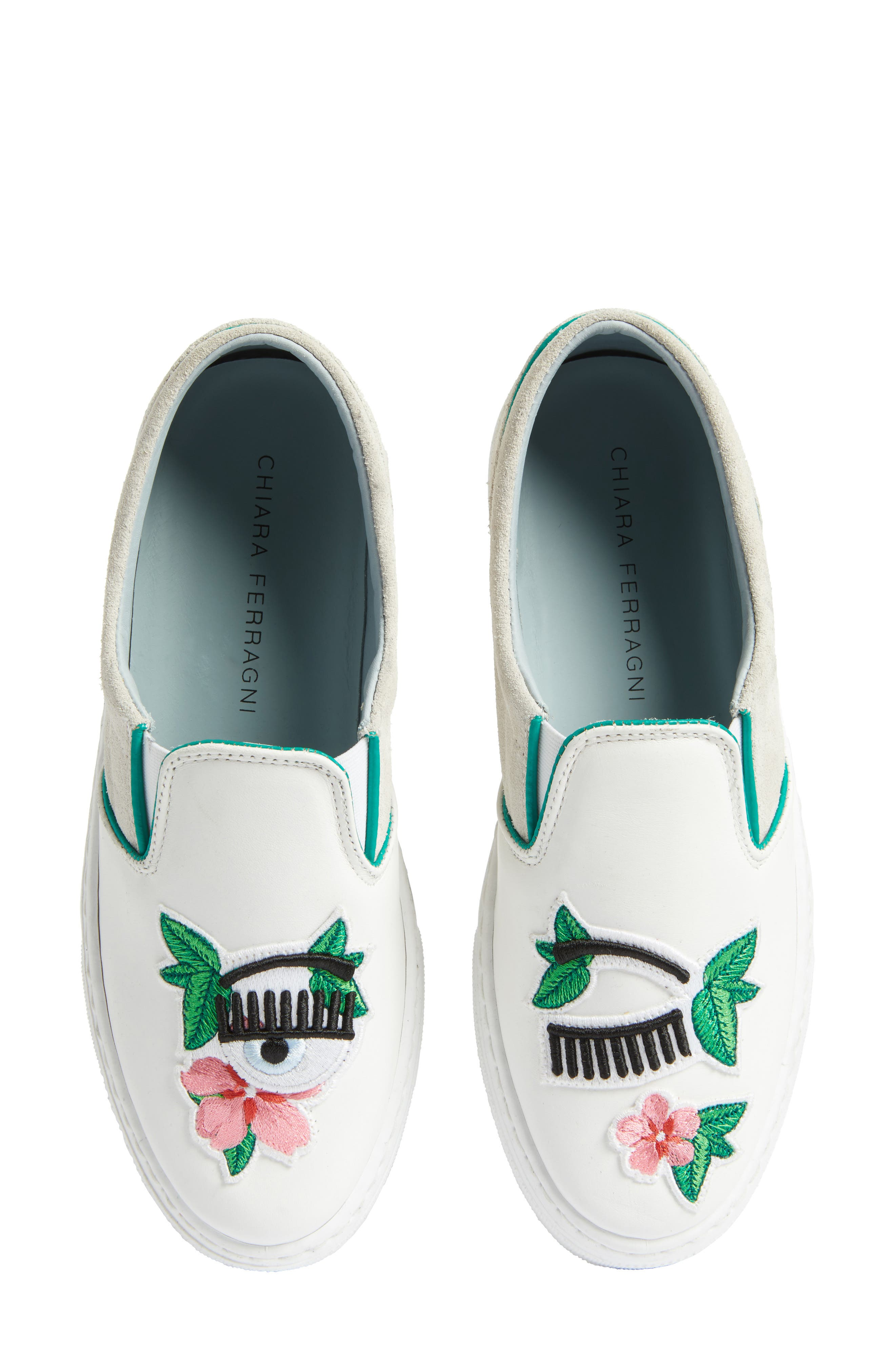 Flower Power Slip-On Sneaker,                             Main thumbnail 1, color,                             168