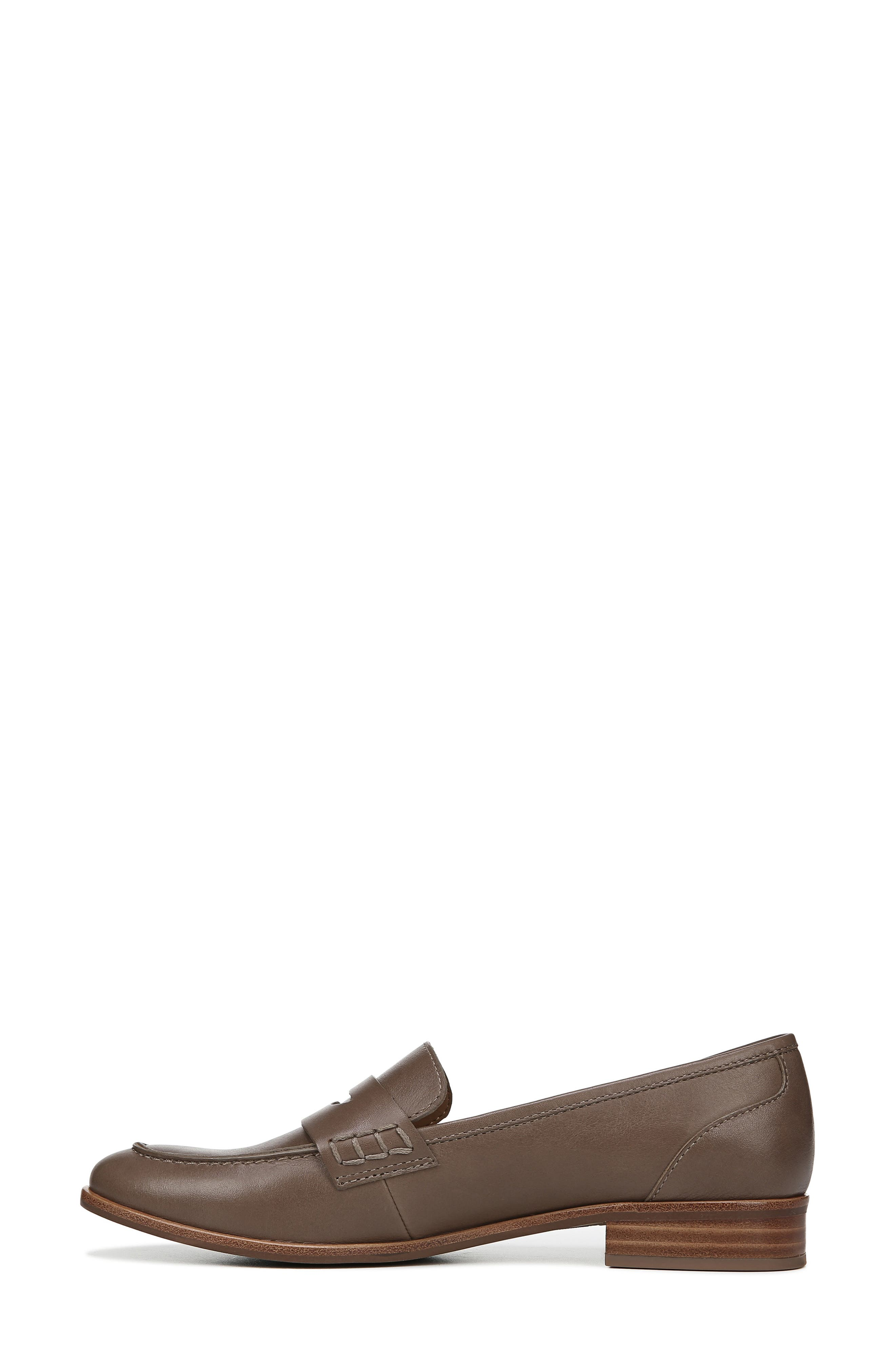 SARTO BY FRANCO SARTO,                             'Jolette' Penny Loafer,                             Alternate thumbnail 9, color,                             DARK PUTTY LEATHER