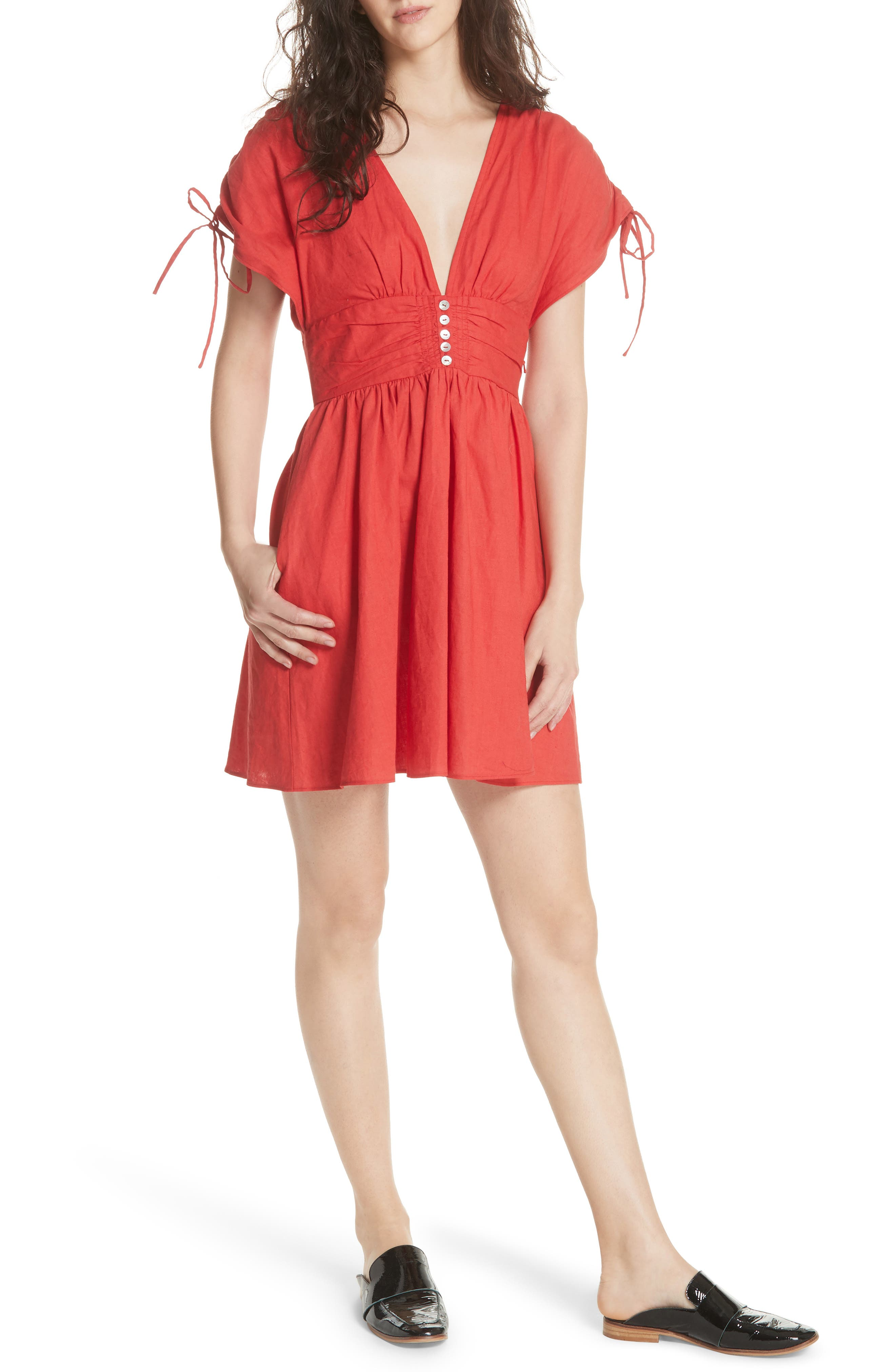 Roll the Dice Minidress,                         Main,                         color, 600