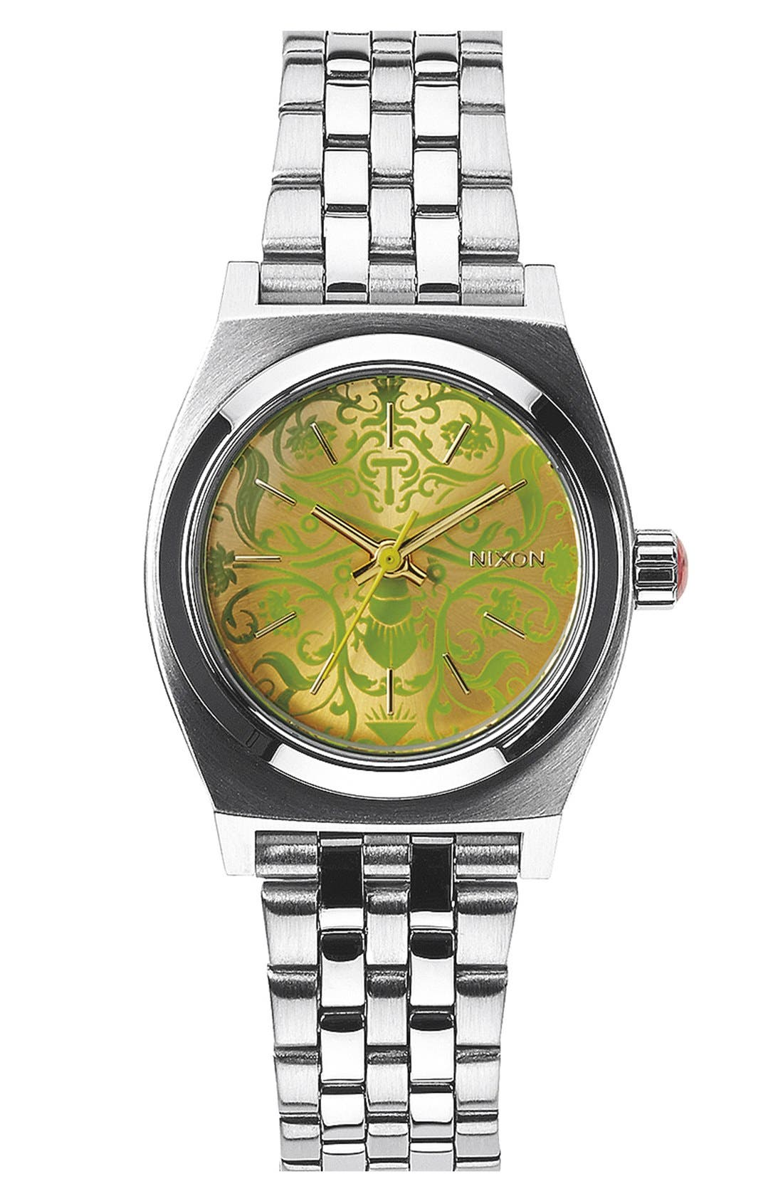 'The Small Time Teller' Bracelet Watch, 26mm,                             Main thumbnail 4, color,