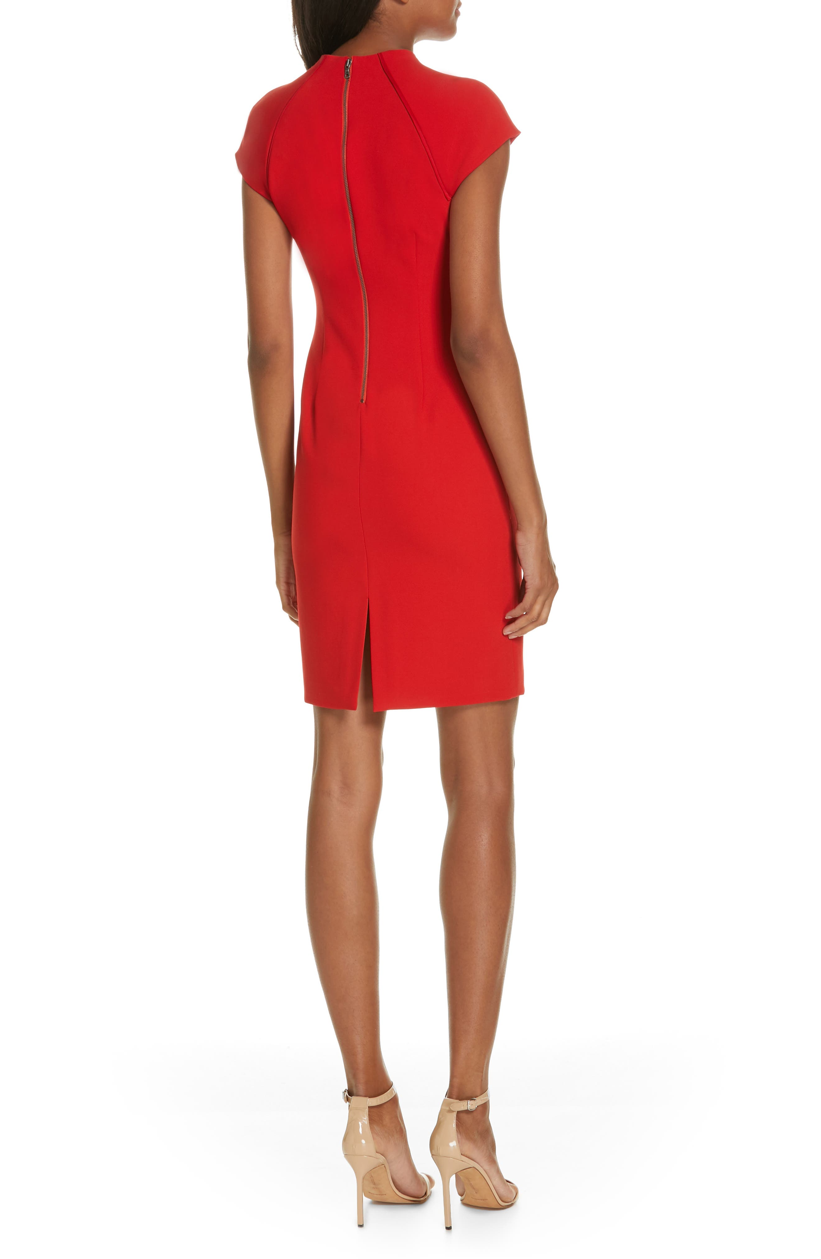 Latisha Fitted Dress,                             Alternate thumbnail 2, color,                             626
