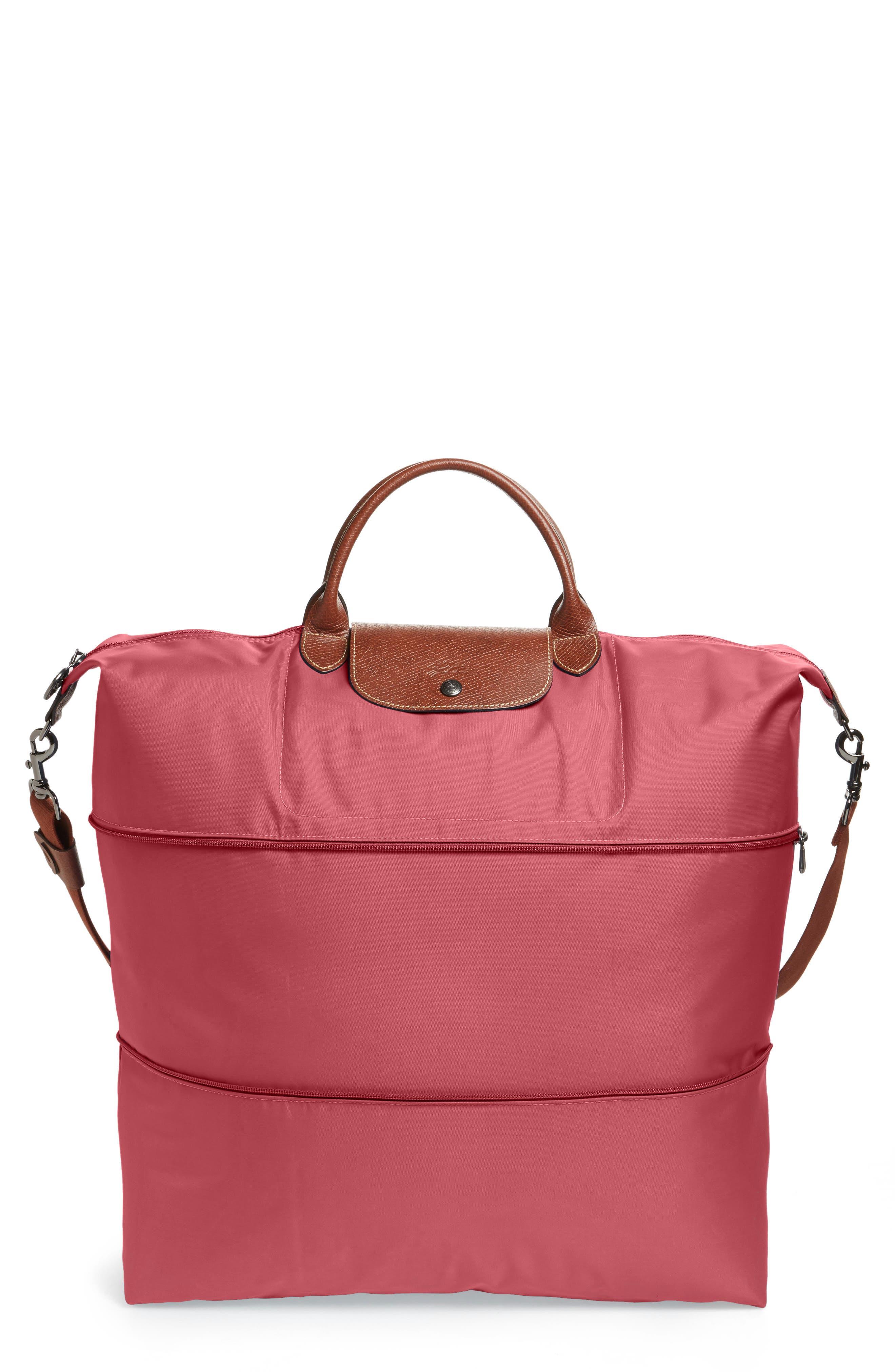 Le Pliage 21-Inch Expandable Travel Bag,                             Main thumbnail 1, color,                             FIG