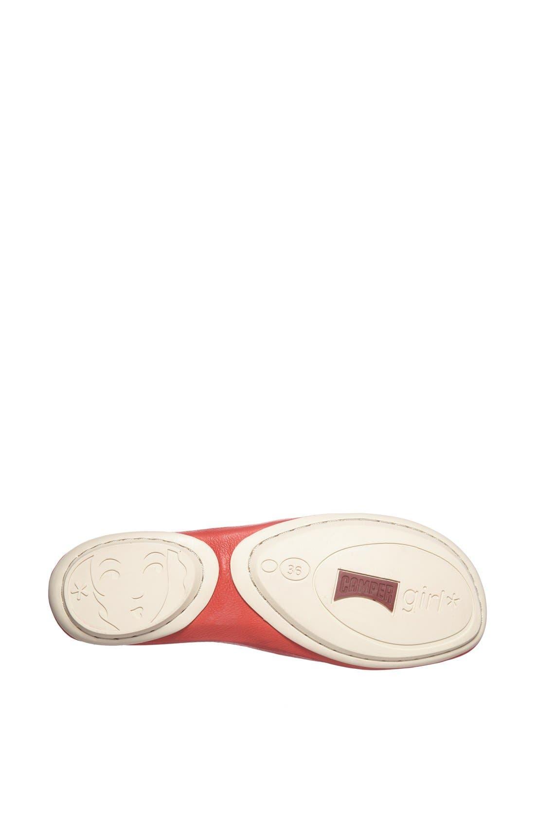 'Right Nina' Leather Flat,                             Alternate thumbnail 12, color,