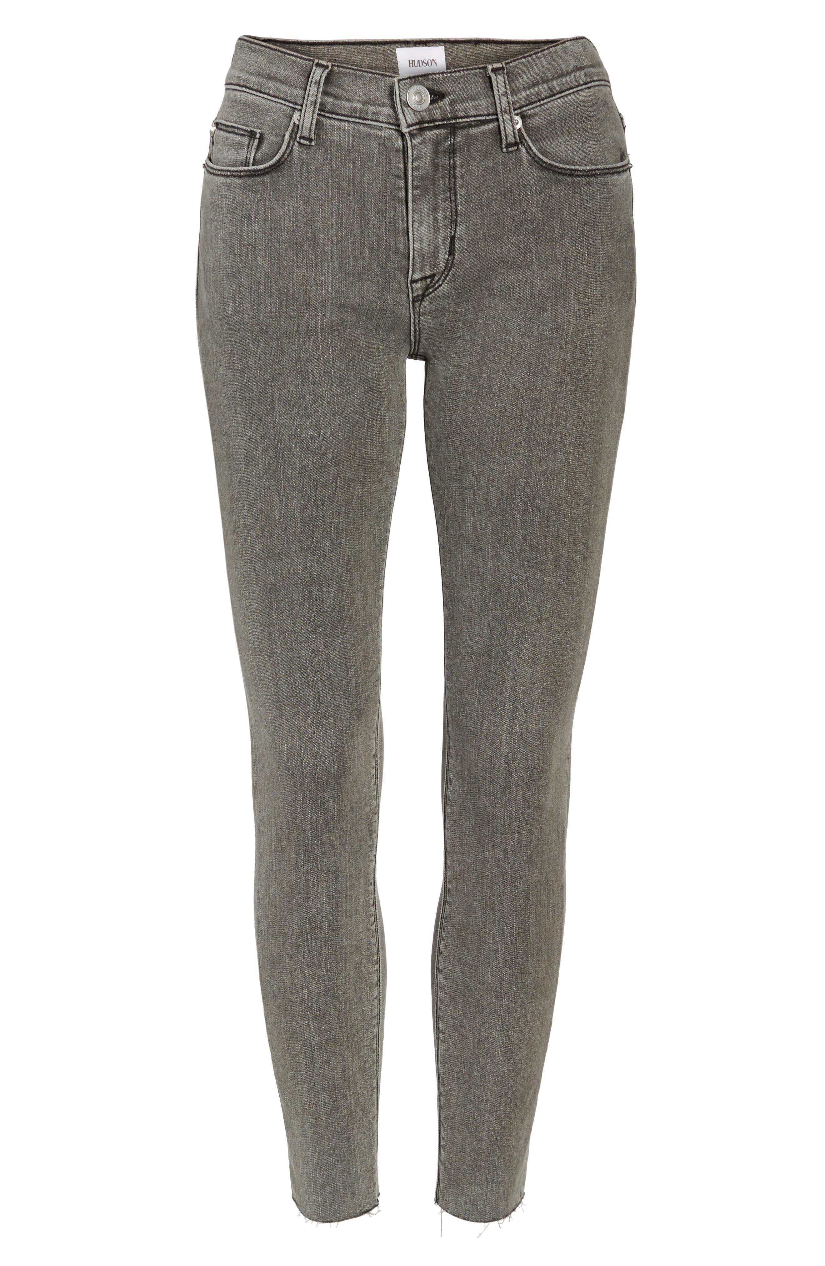 Hudson Nico Ankle Super Skinny Jeans,                             Alternate thumbnail 6, color,                             063