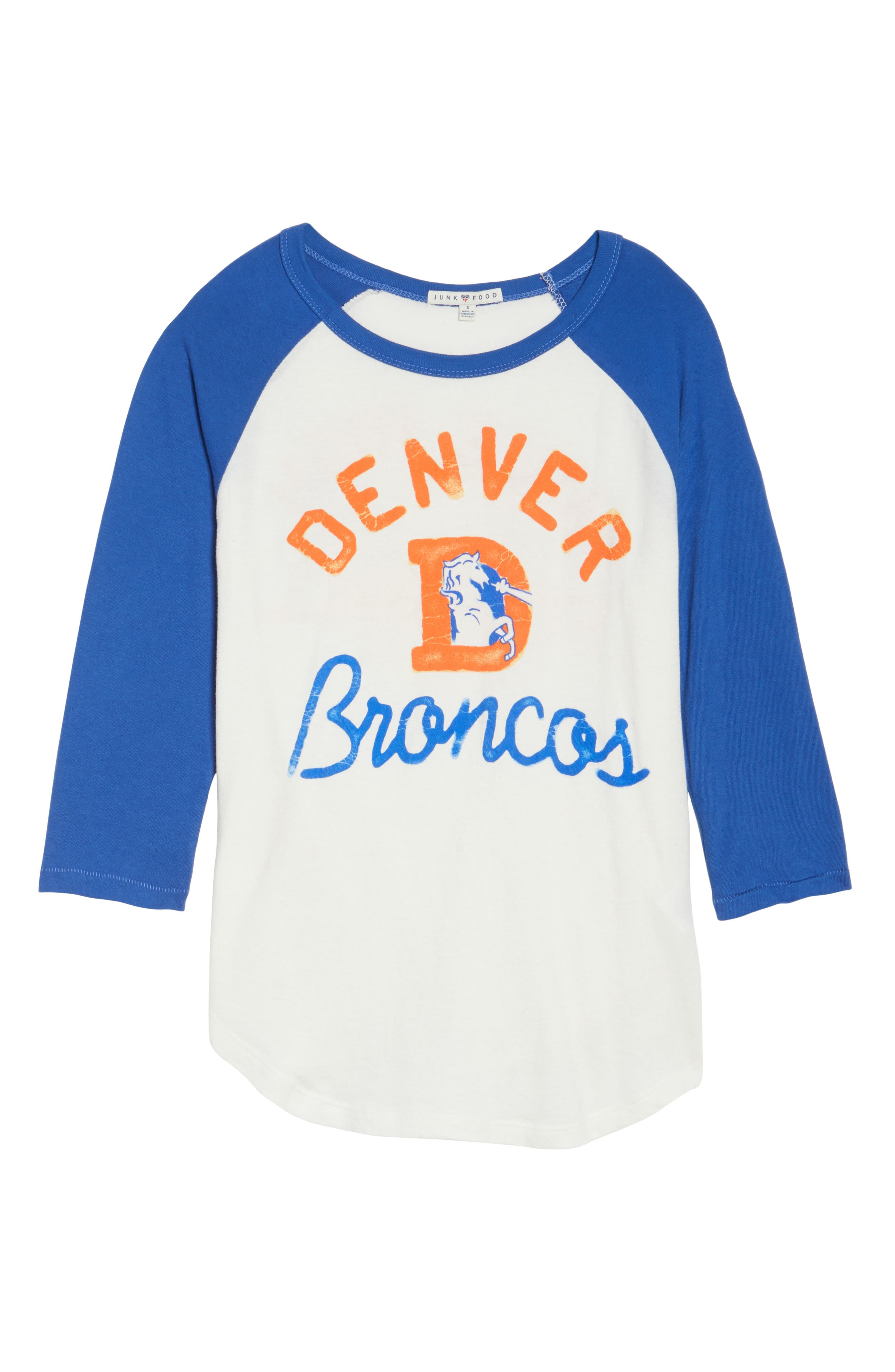 NFL Denver Broncos Raglan Tee,                             Alternate thumbnail 6, color,                             189