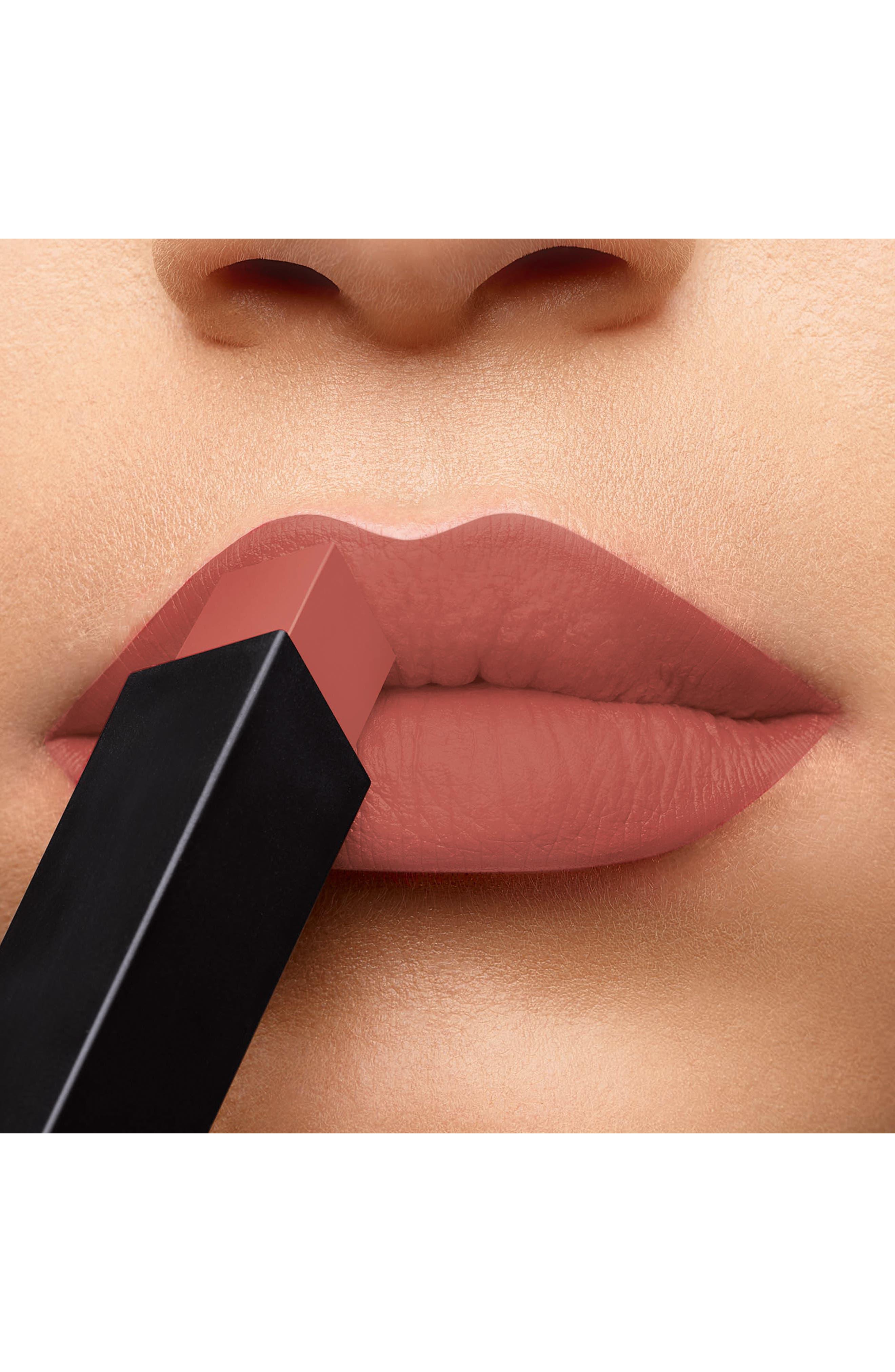 Rouge Pur Couture The Slim Matte Lipstick,                             Alternate thumbnail 2, color,                             11 AMBIGUOUS BEIGE