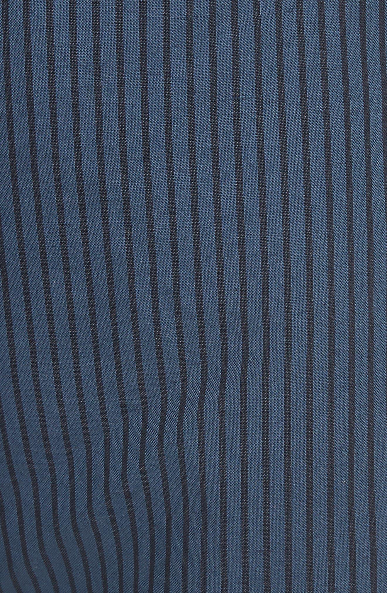 rag + bone Stripe Shorts,                             Alternate thumbnail 5, color,                             416