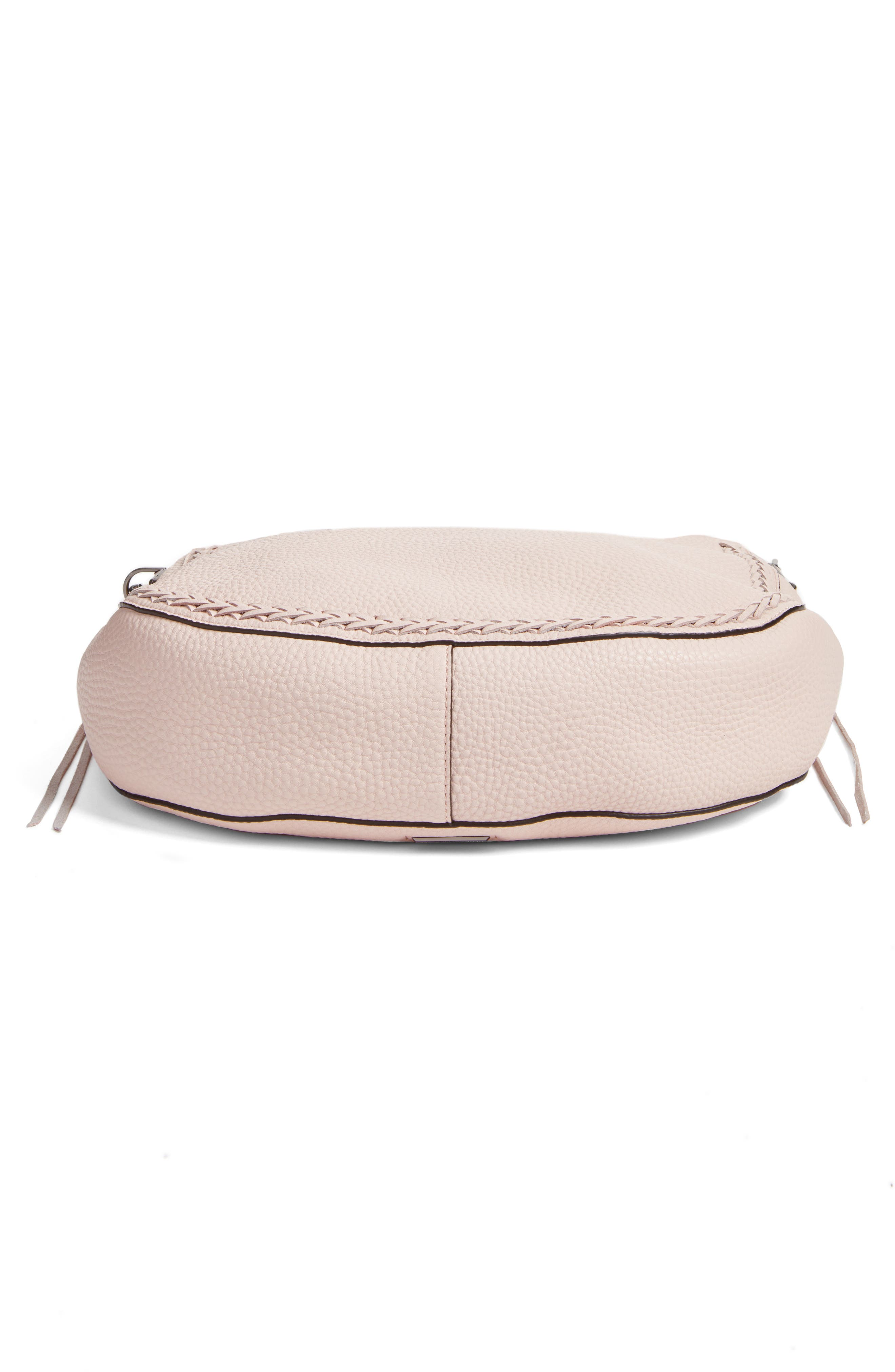 Unlined Convertible Whipstitch Hobo,                             Alternate thumbnail 27, color,