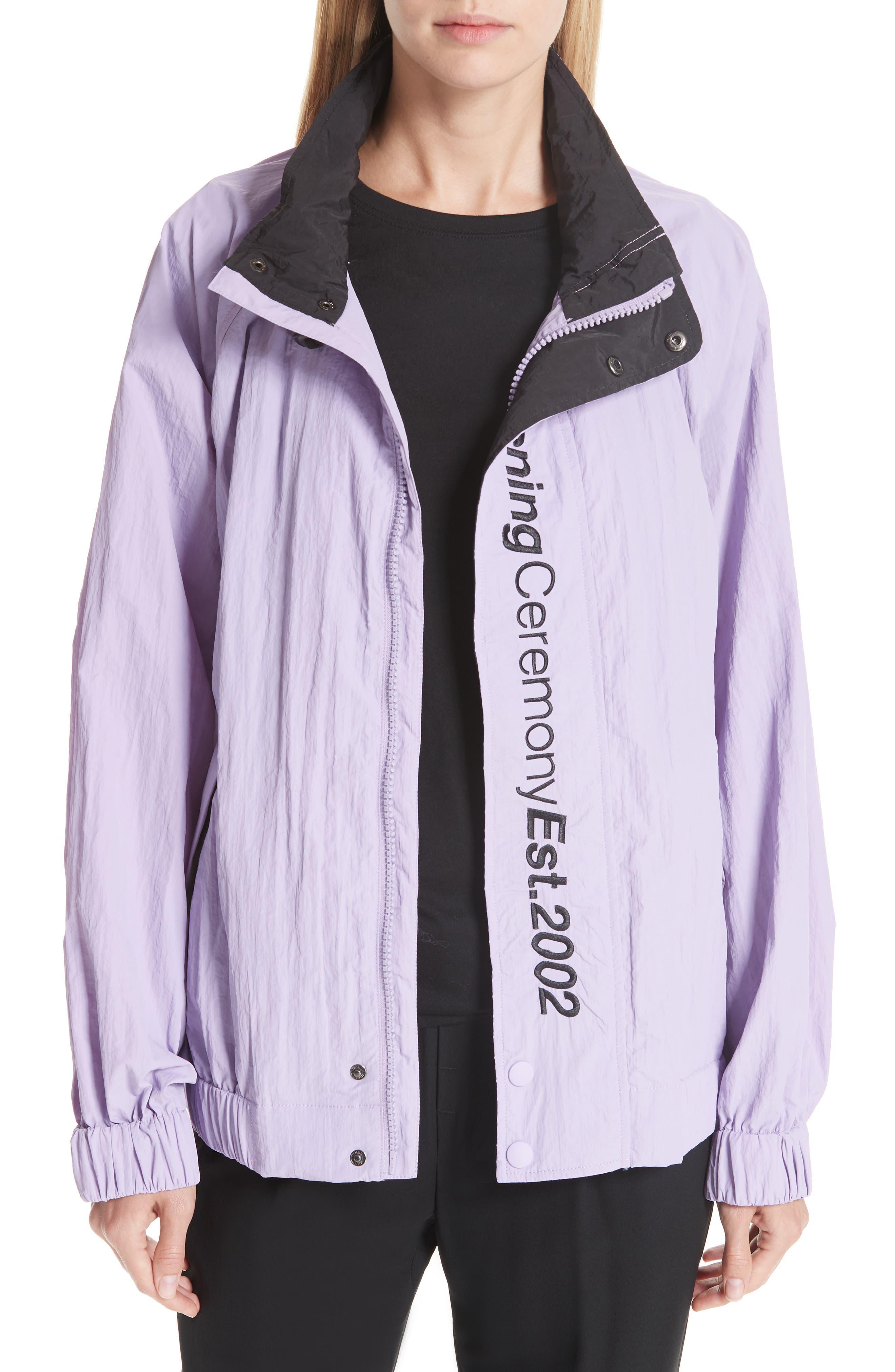 Crinkle Nylon Wind Jacket, Main, color, 531