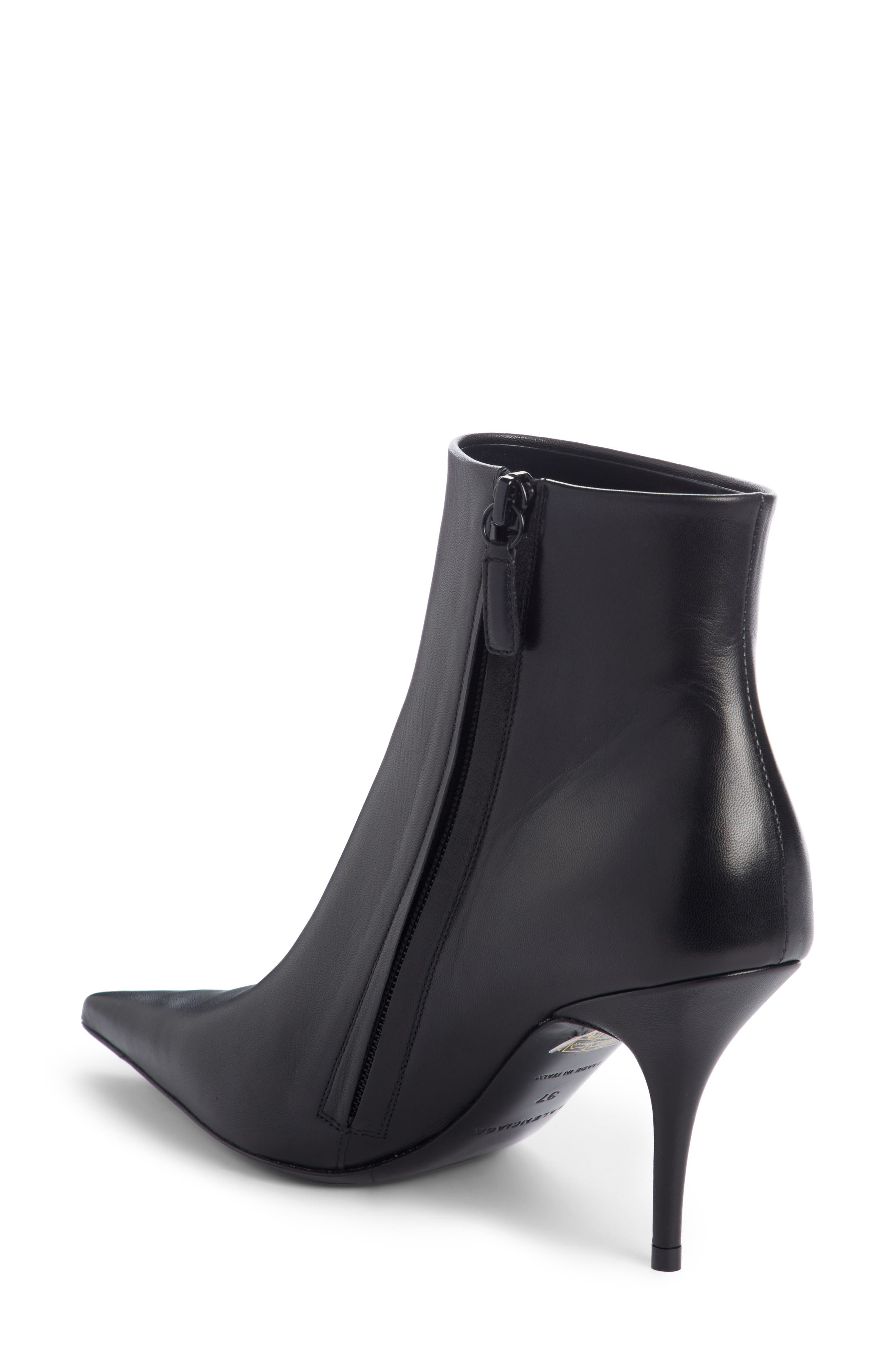 Pointy Toe Bootie,                             Alternate thumbnail 2, color,                             001