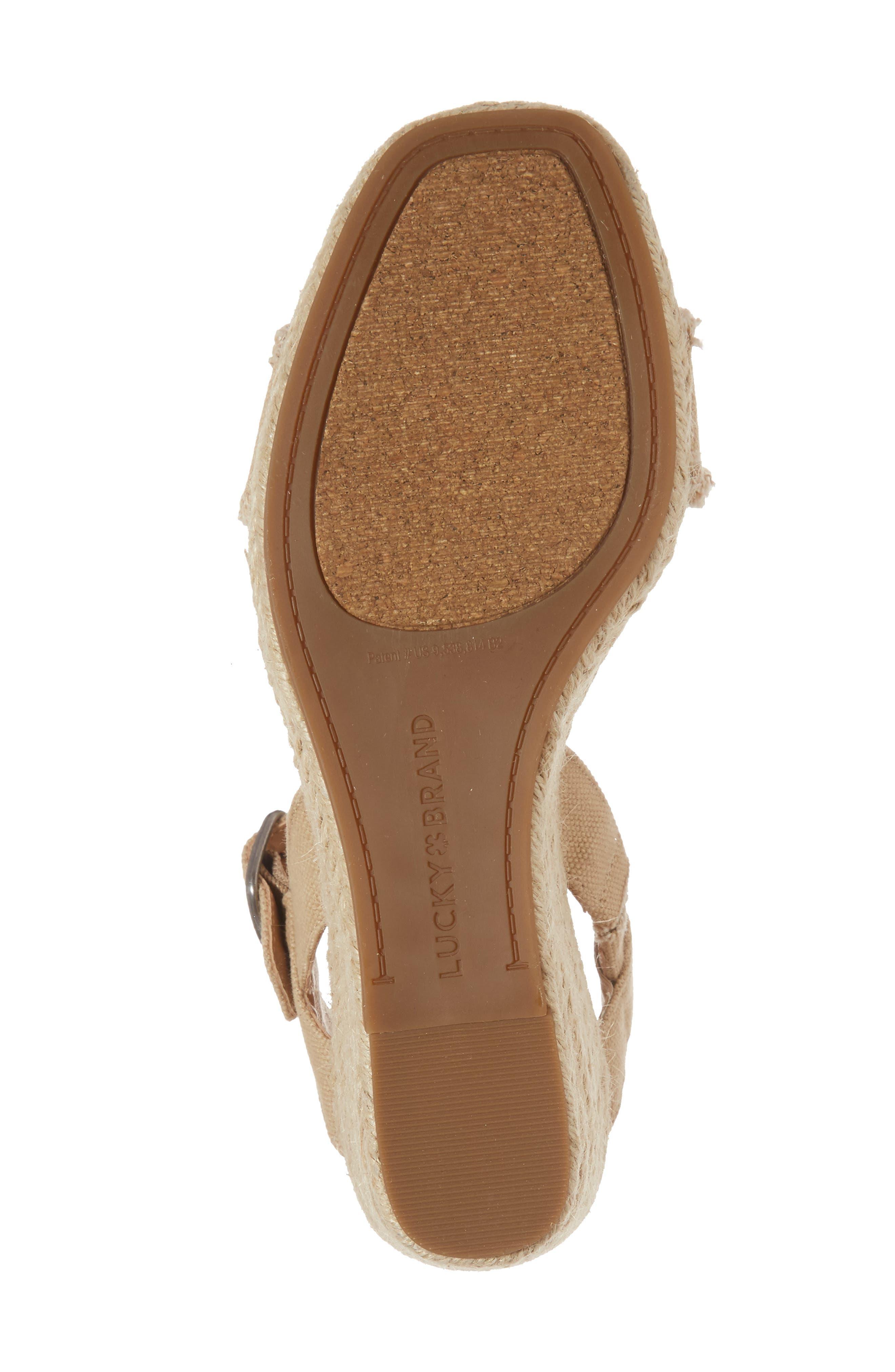 Marceline Squared Toe Wedge Sandal,                             Alternate thumbnail 38, color,