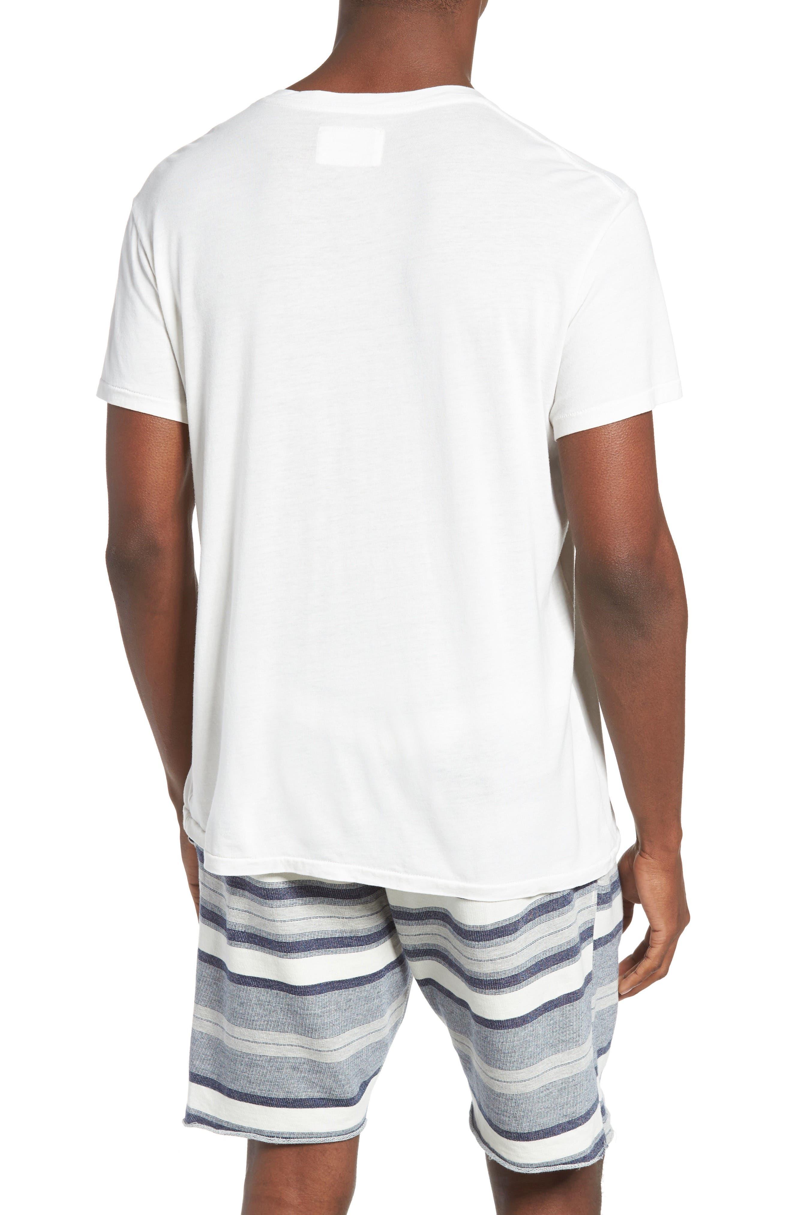 Essential V-Neck T-Shirt,                             Alternate thumbnail 16, color,