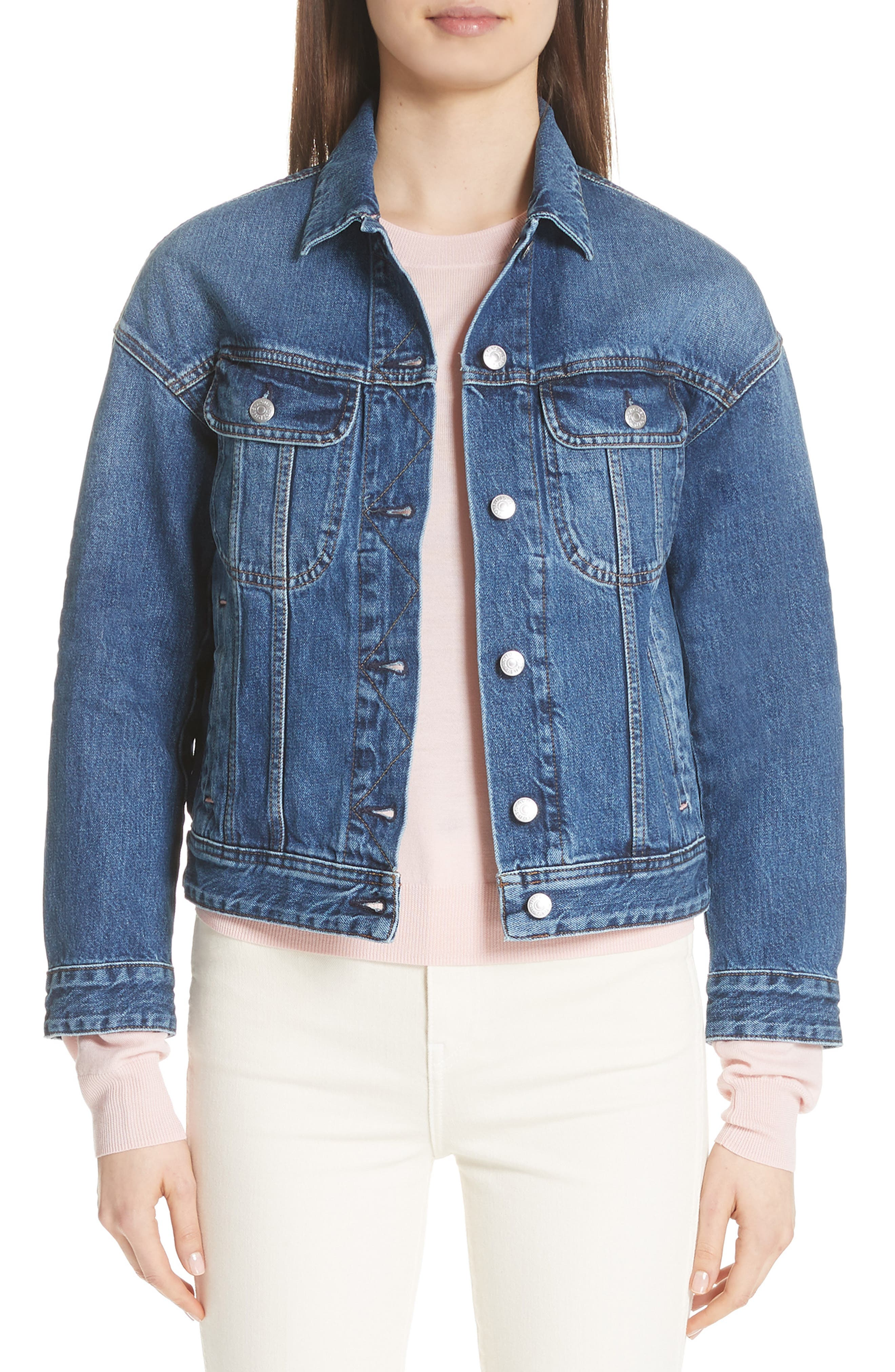 Lamp Denim Jacket,                         Main,                         color, 400