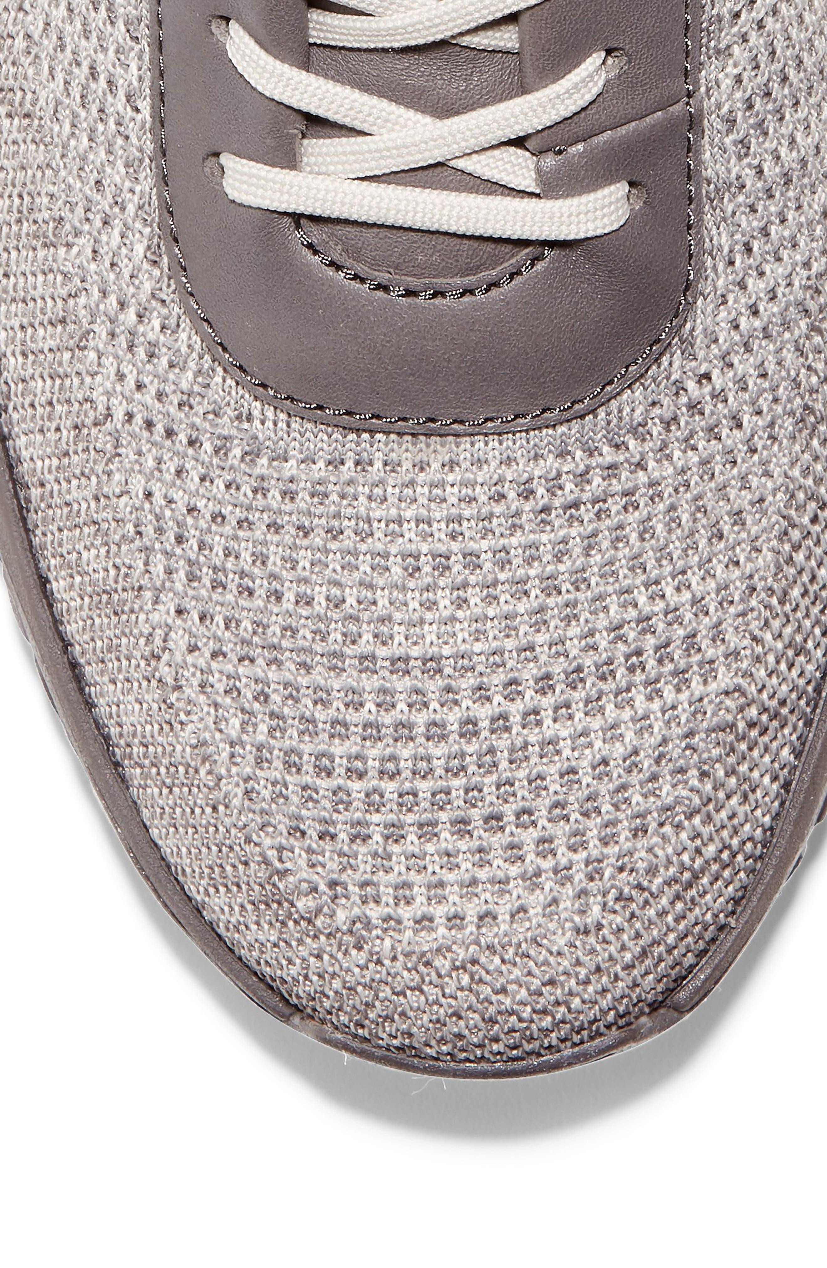 GrandPro Trail Low Stitchlite Sneaker,                             Alternate thumbnail 7, color,                             BLACK/ VAPOR GREY KNIT
