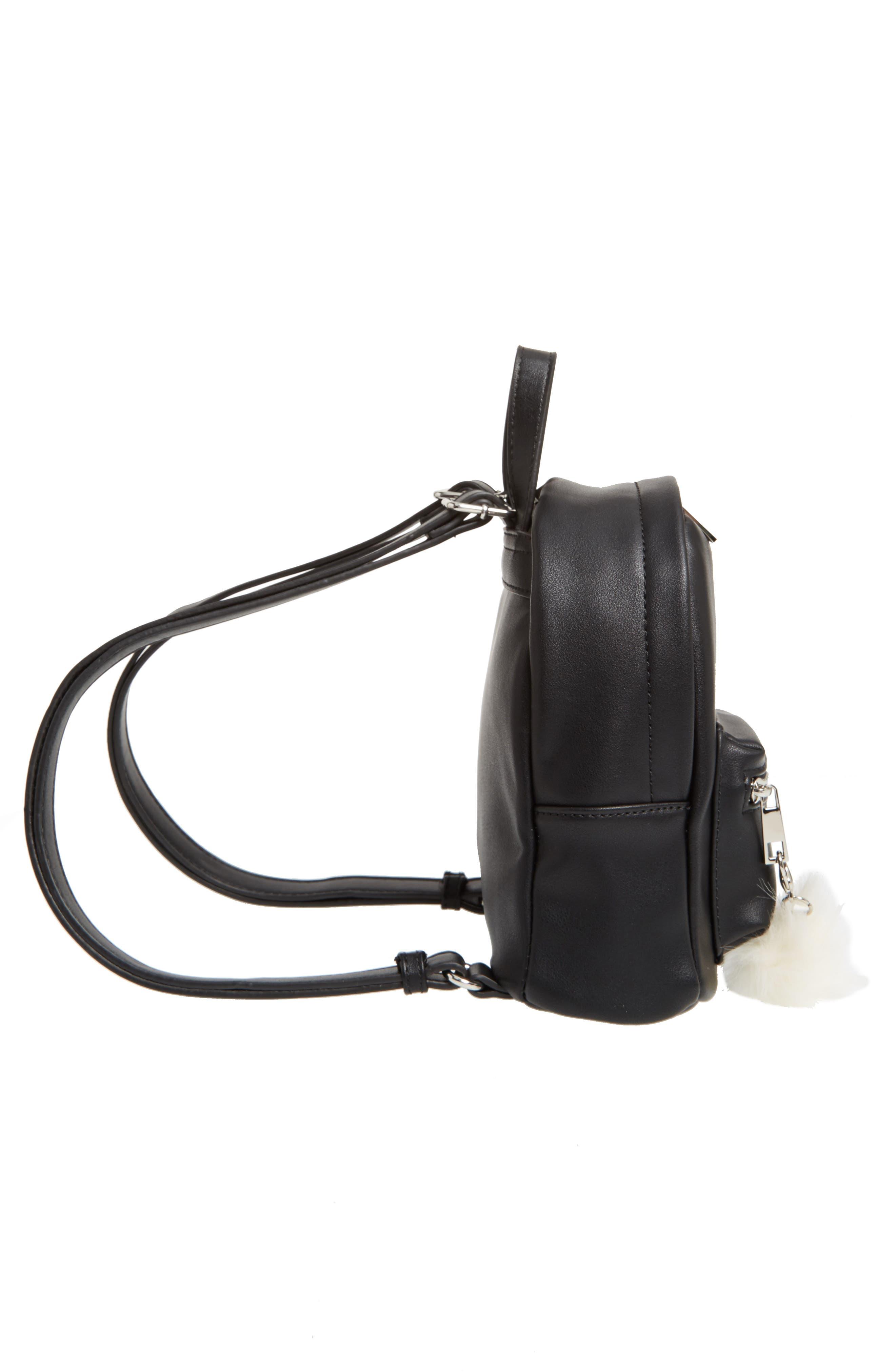 Faux Leather Mini Backpack,                             Alternate thumbnail 37, color,