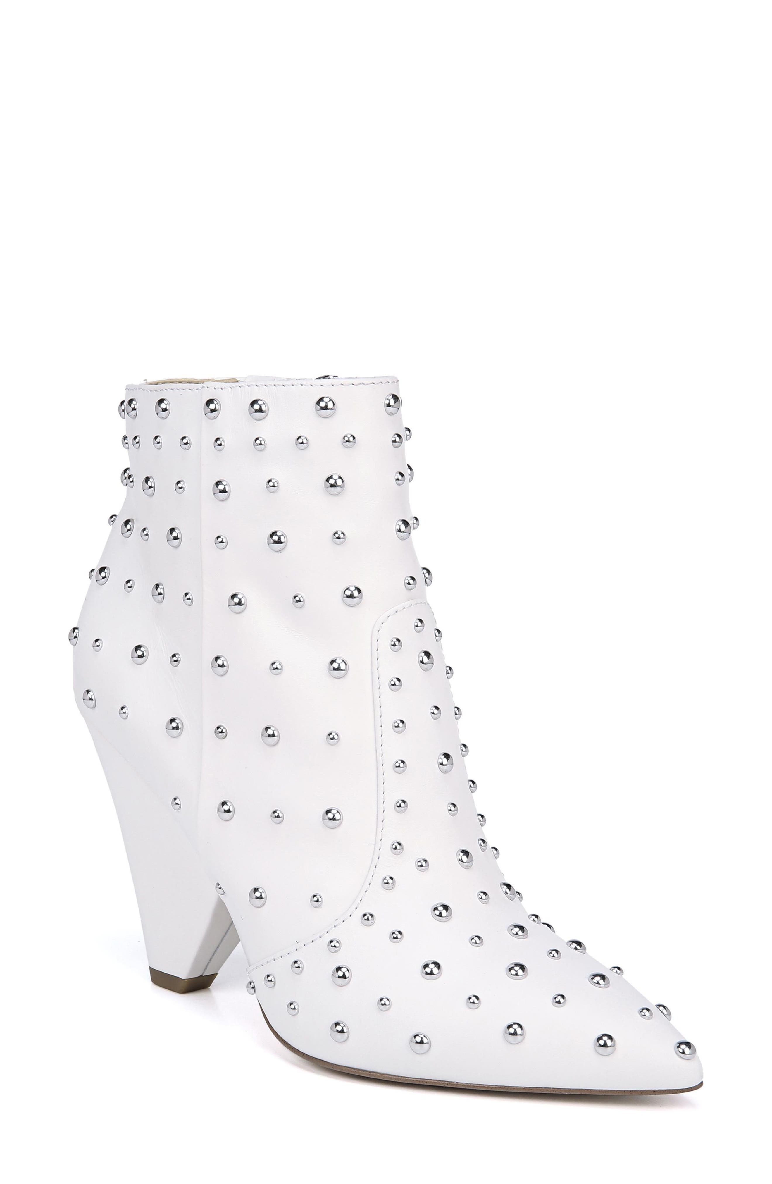 Roya Studded Boot,                             Main thumbnail 1, color,                             BRIGHT WHITE LEATHER