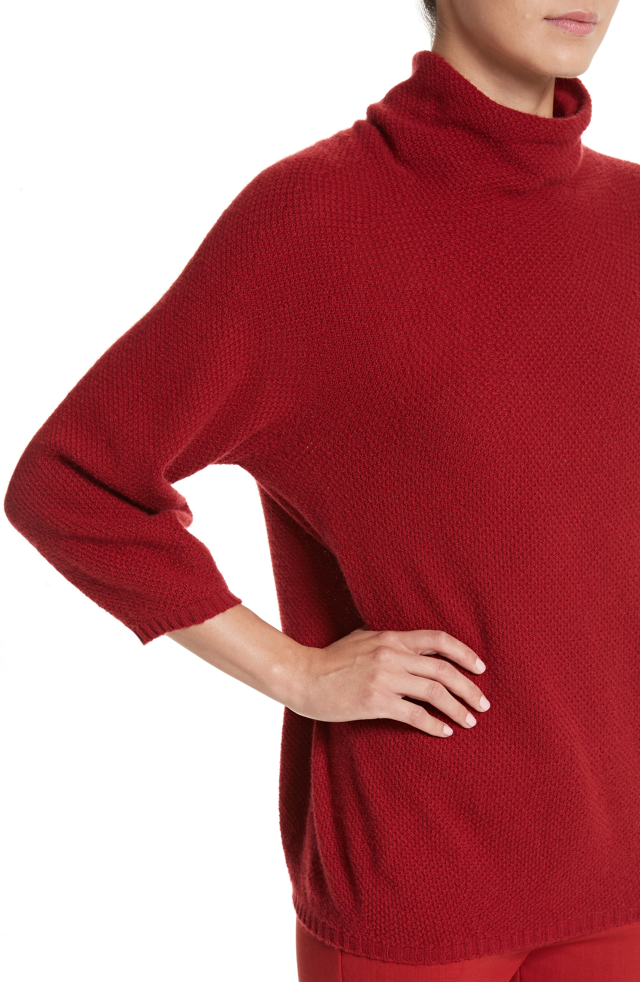 Belgio Wool & Cashmere Sweater,                             Alternate thumbnail 4, color,                             614