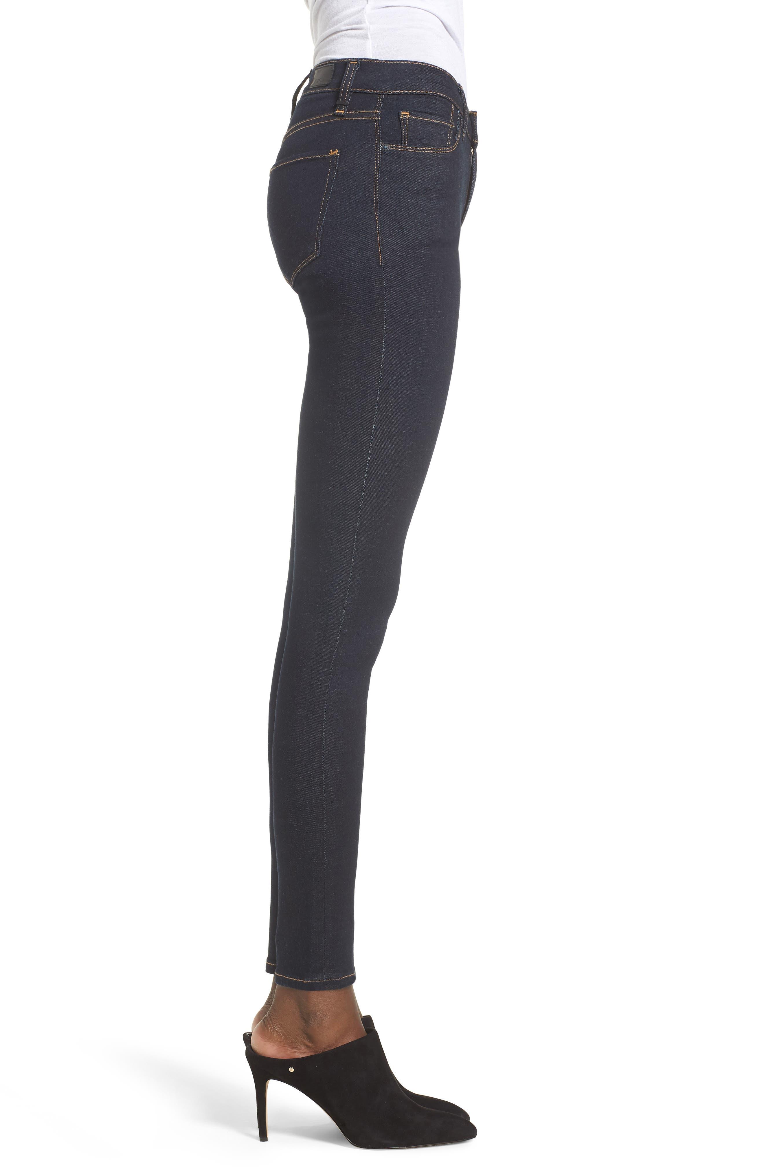 Nico Super Skinny Jeans,                             Alternate thumbnail 3, color,                             SUNSET BLVD