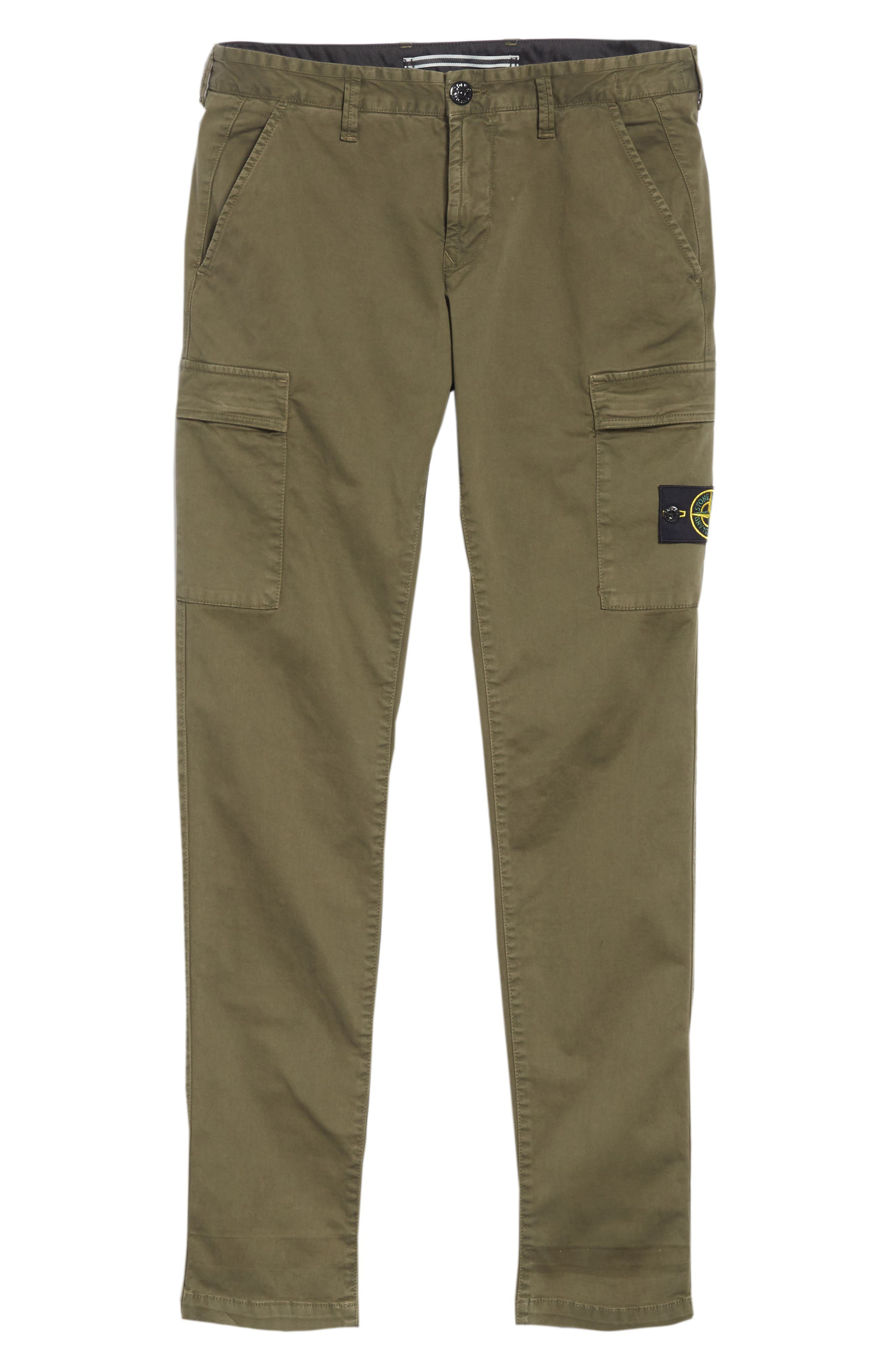 Slim Fit Cargo Chinos,                             Alternate thumbnail 6, color,                             400