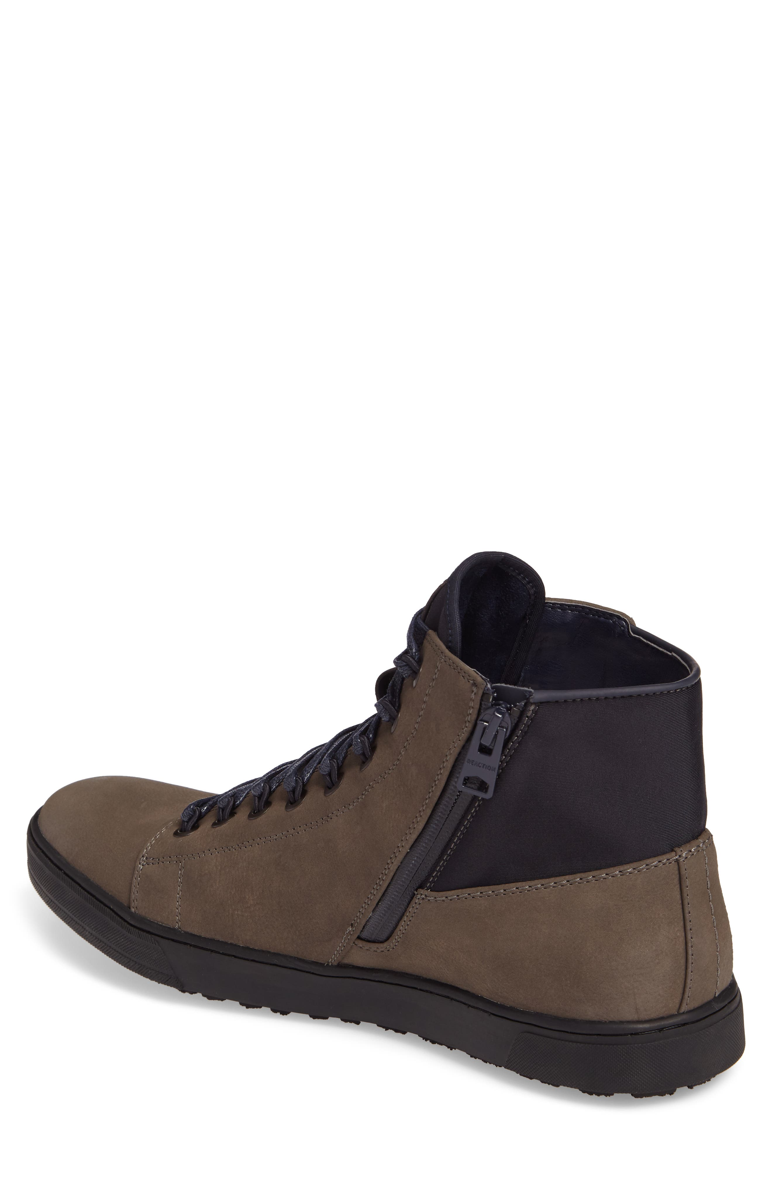 Kenneth Cole Reaction High-Top Sneaker,                             Alternate thumbnail 4, color,