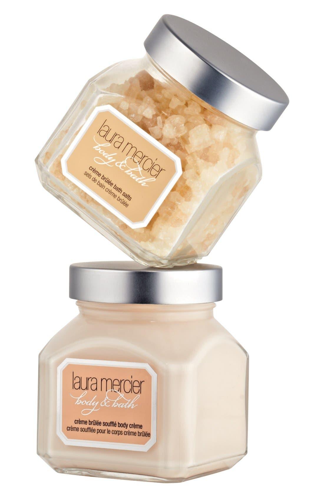 LAURA MERCIER,                             'Crème Brûlée' Body & Bath Duet,                             Main thumbnail 1, color,                             000