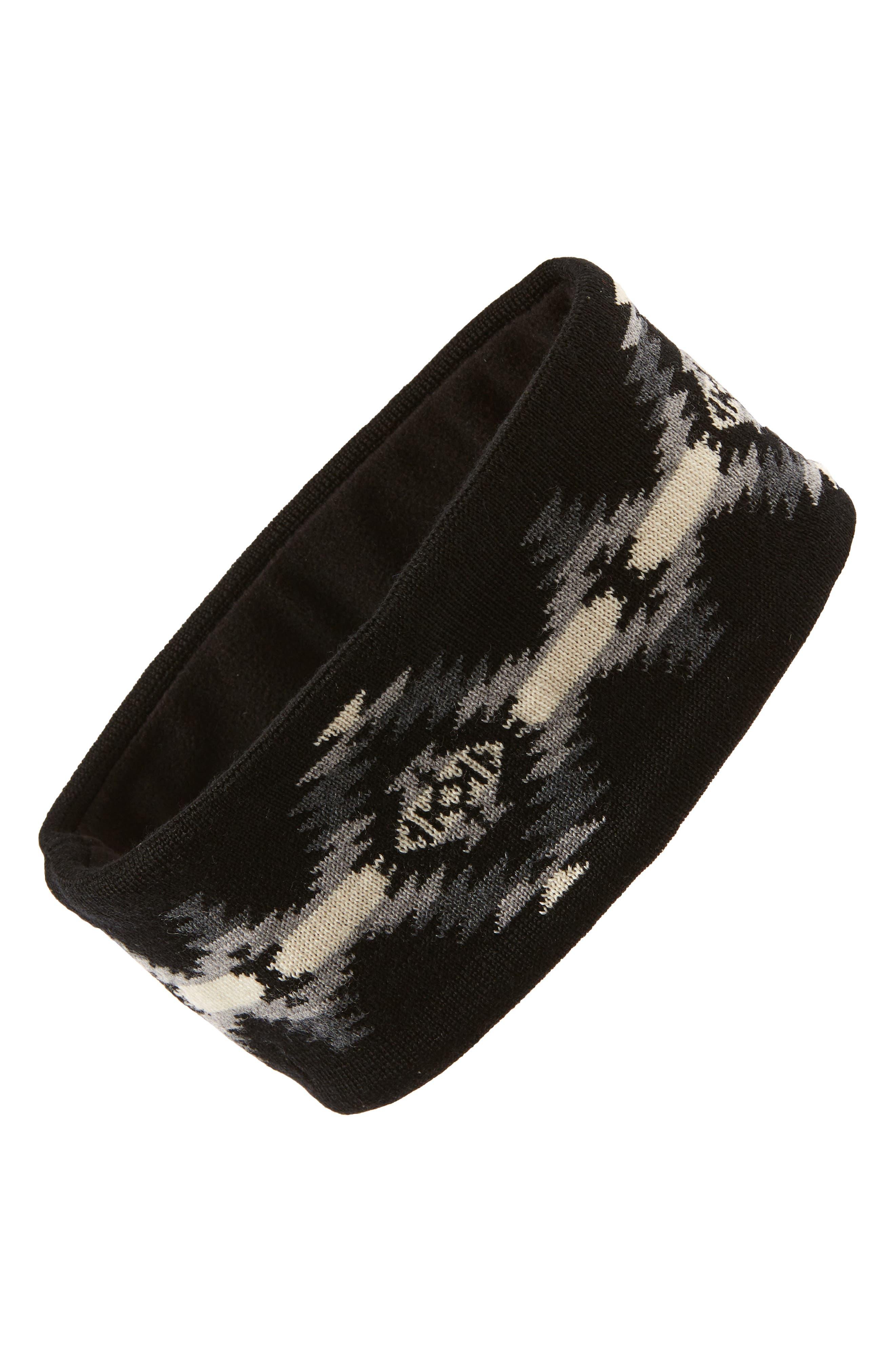 Fleece Lined Headband,                         Main,                         color, 001