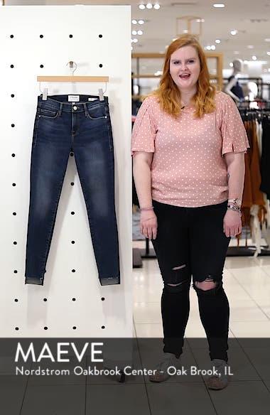 Le Skinny de Jeanne Raw Step Hem Skinny Jeans, sales video thumbnail