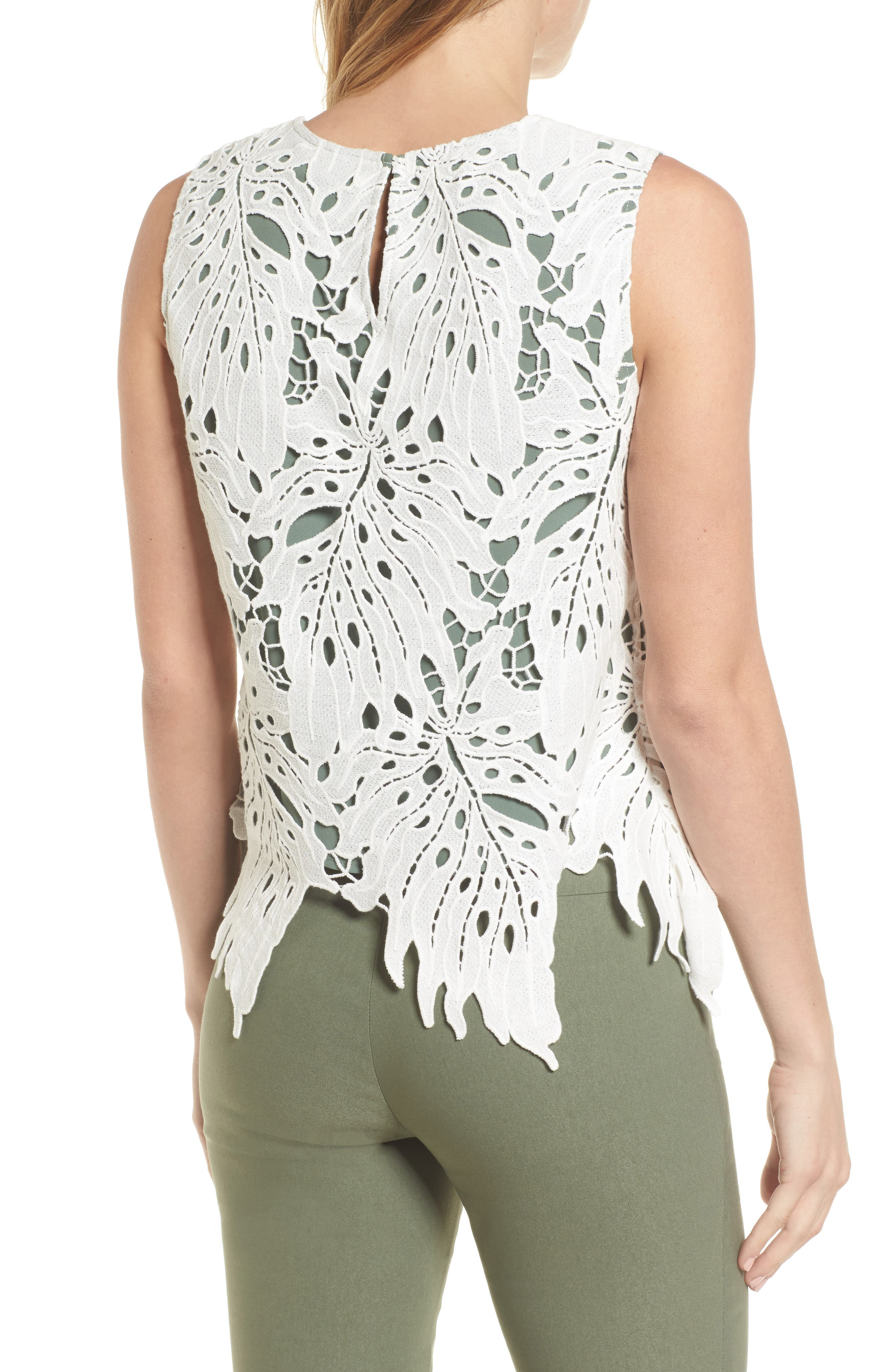 Falling Lace Top,                             Alternate thumbnail 2, color,                             251