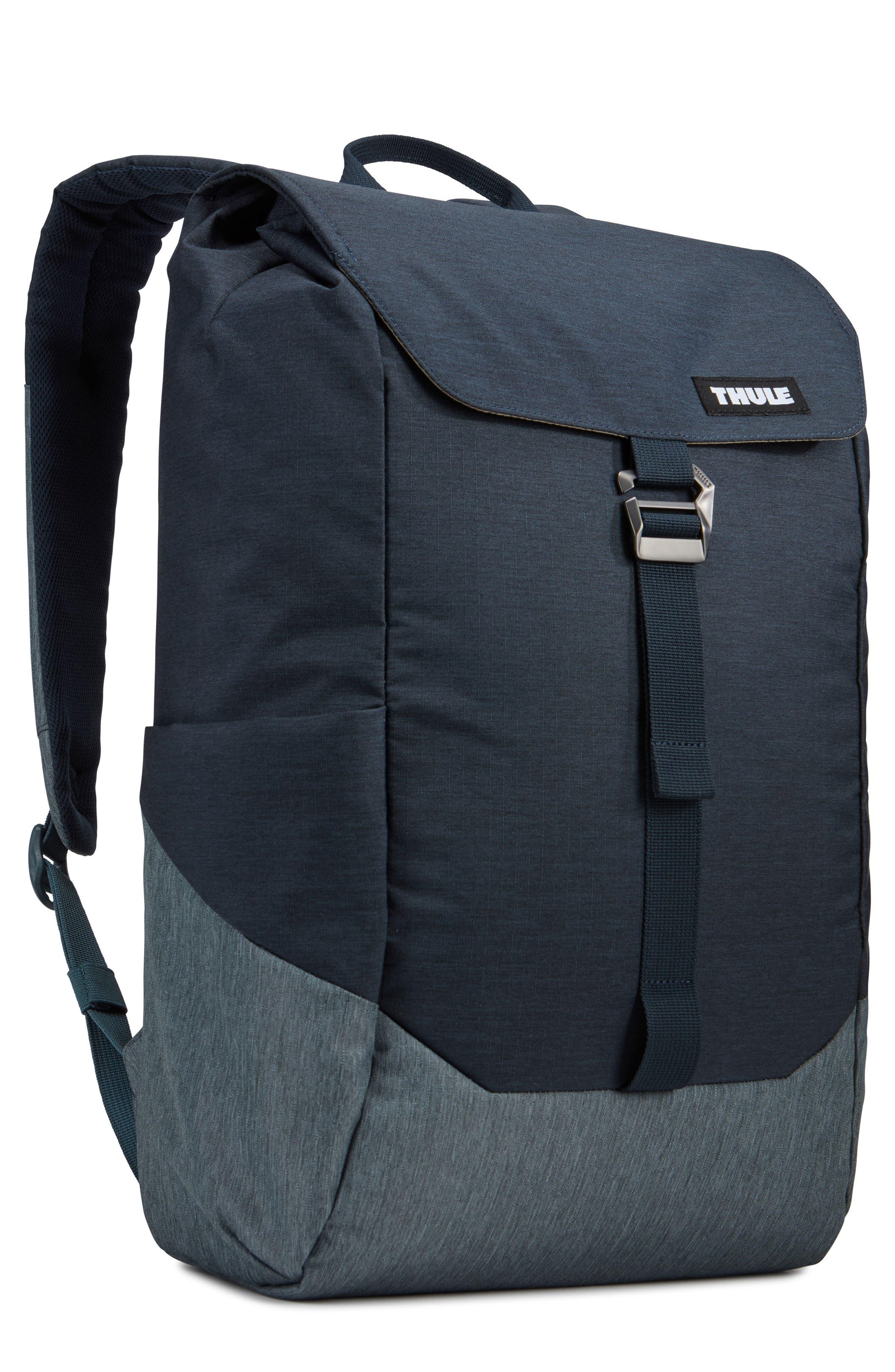 Lithos Backpack,                         Main,                         color, CARBON BLUE