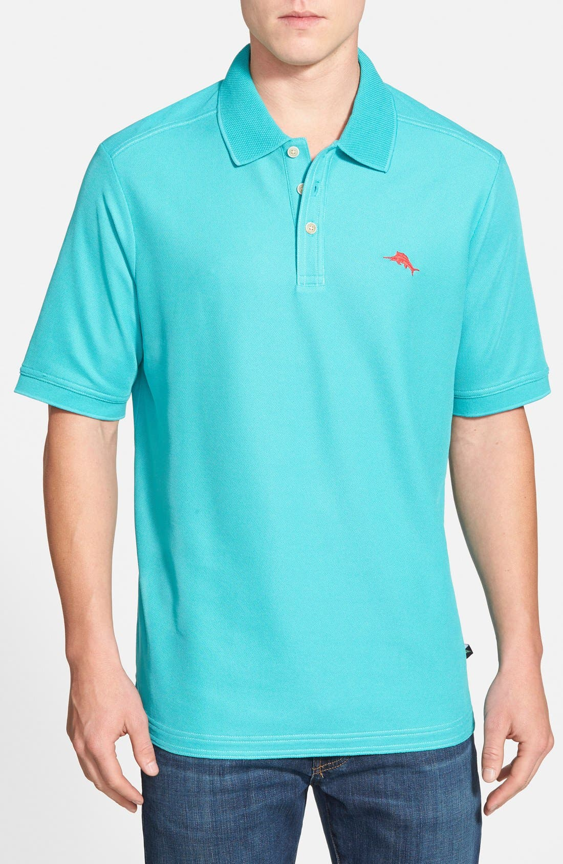 'The Emfielder' Original Fit Piqué Polo,                             Main thumbnail 45, color,