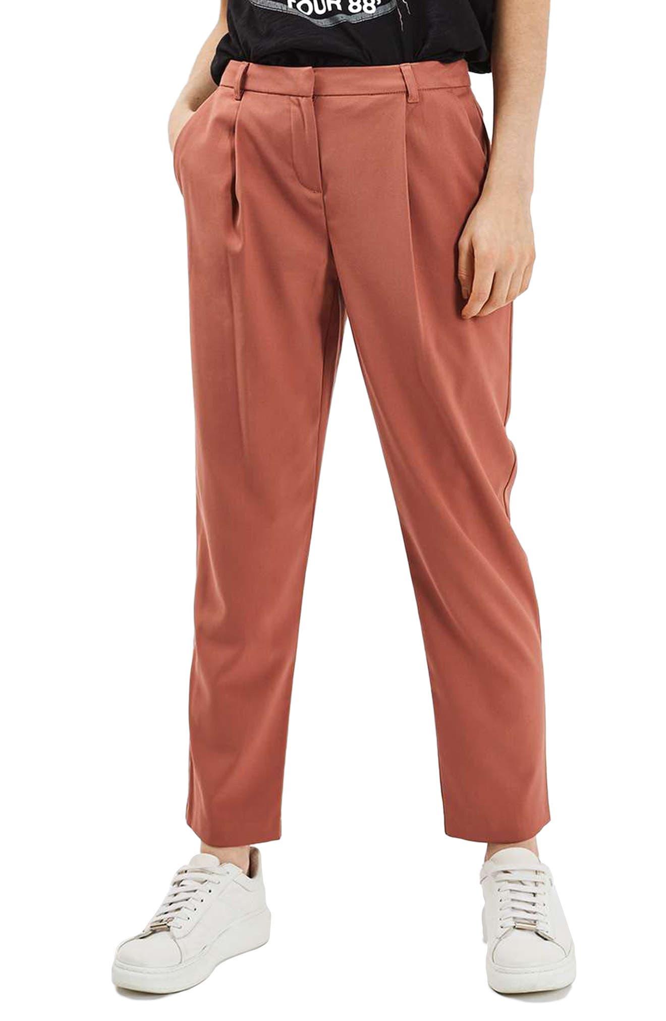 Peg Leg Trousers, Main, color, 220