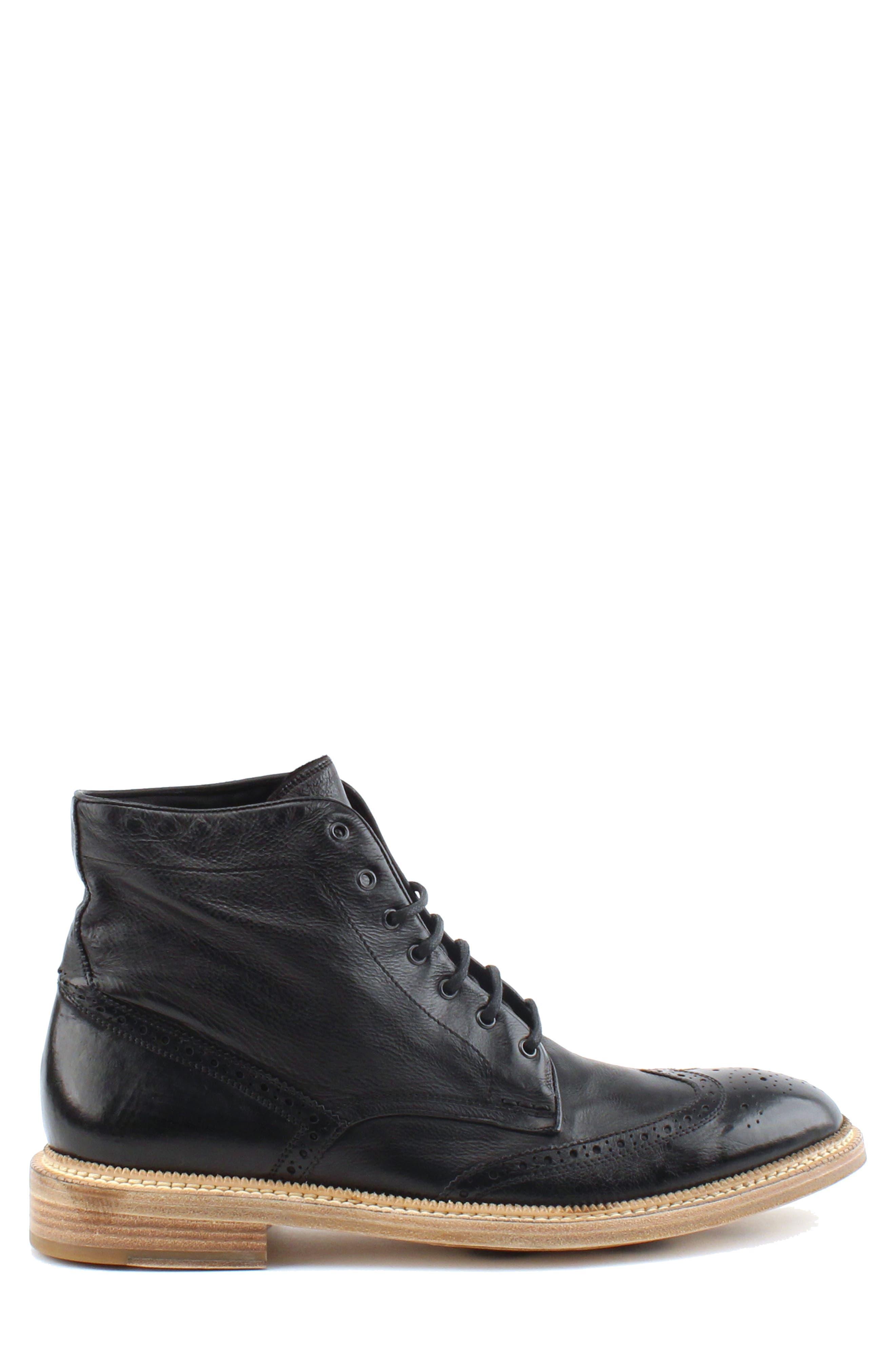 Max Wingtip Boot,                             Alternate thumbnail 3, color,                             001