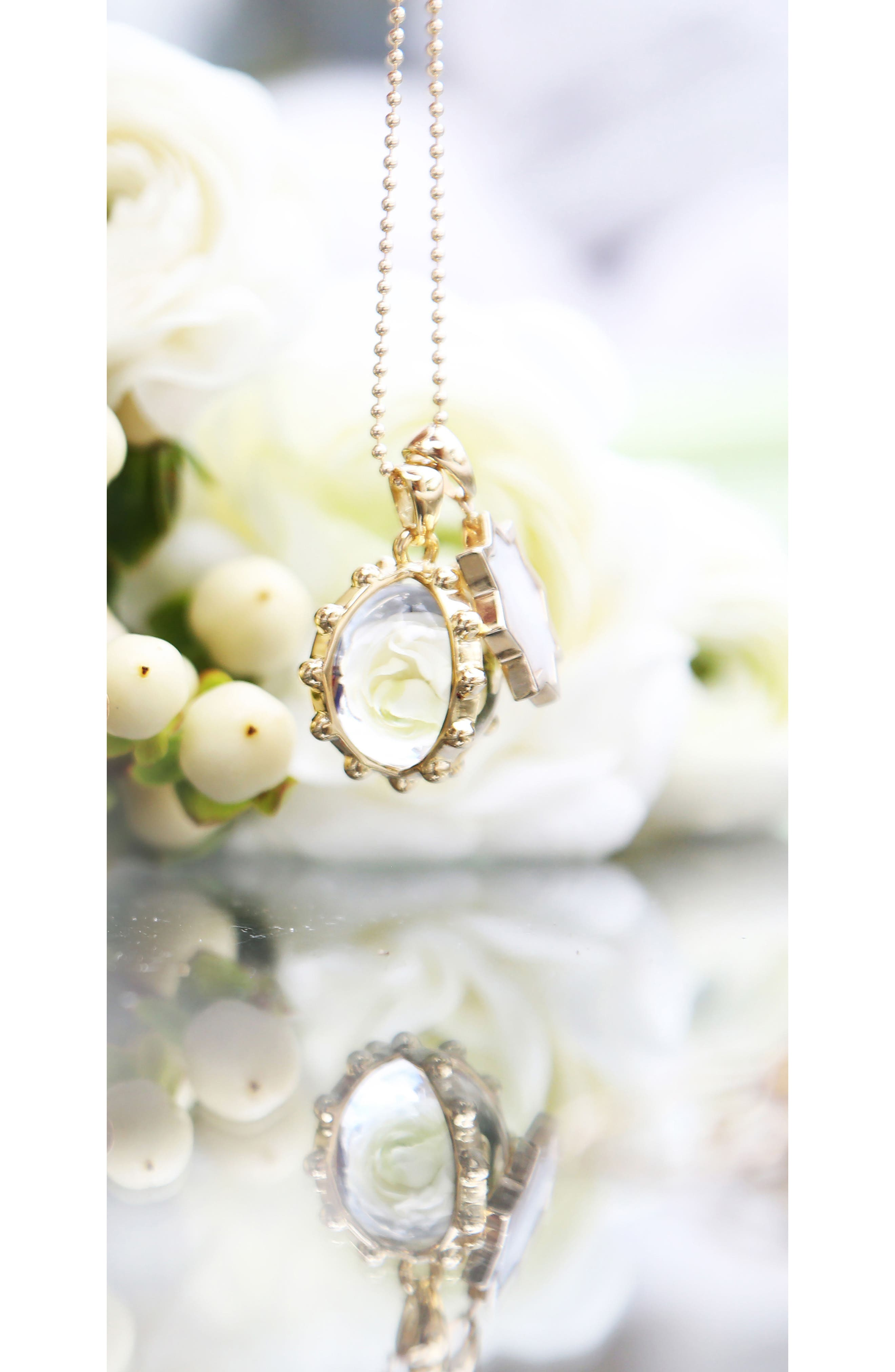 Oxford Mother-of-Pearl Ball Charm,                             Alternate thumbnail 2, color,                             100