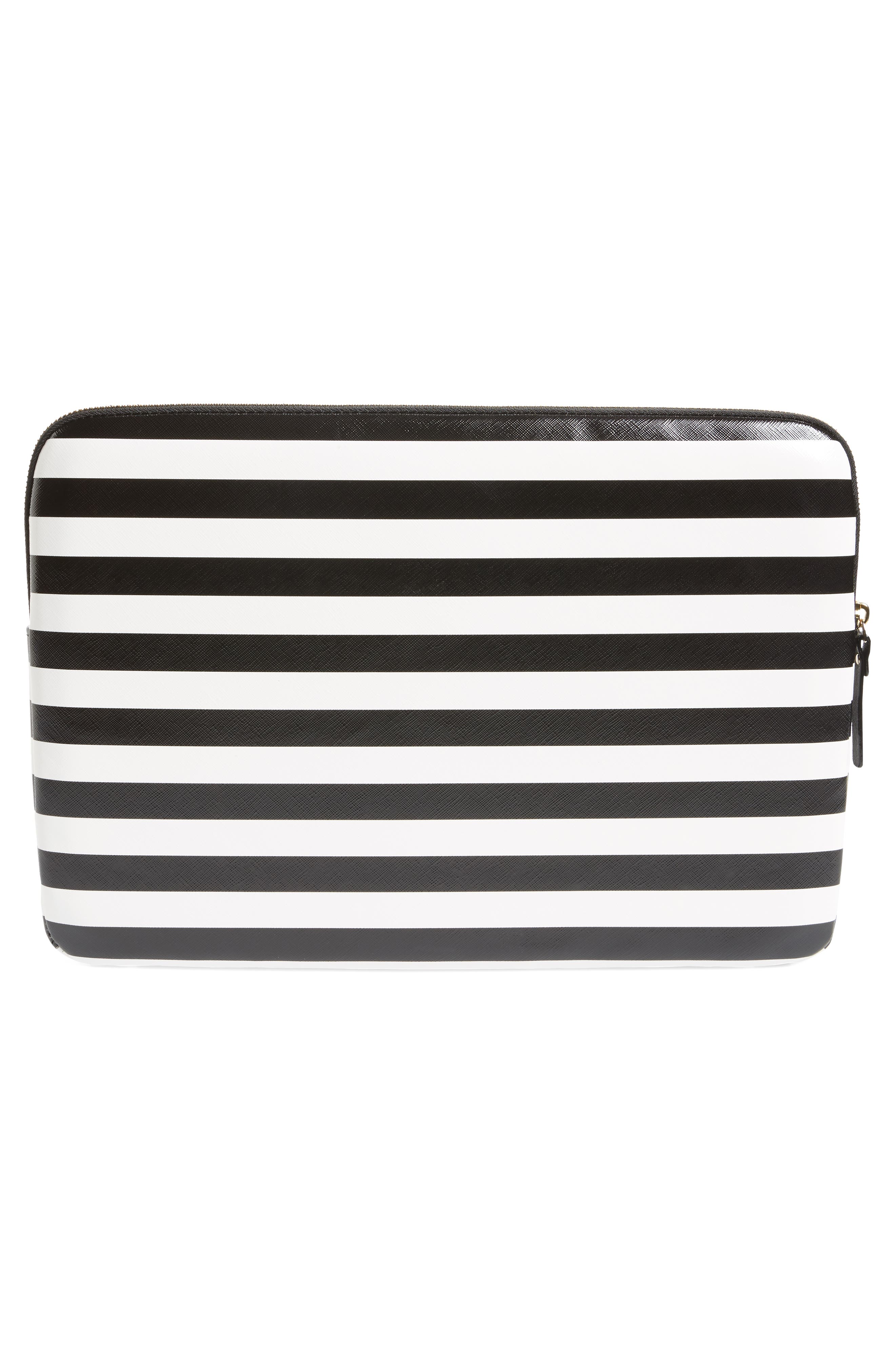 stripe universal laptop sleeve,                             Alternate thumbnail 4, color,                             017