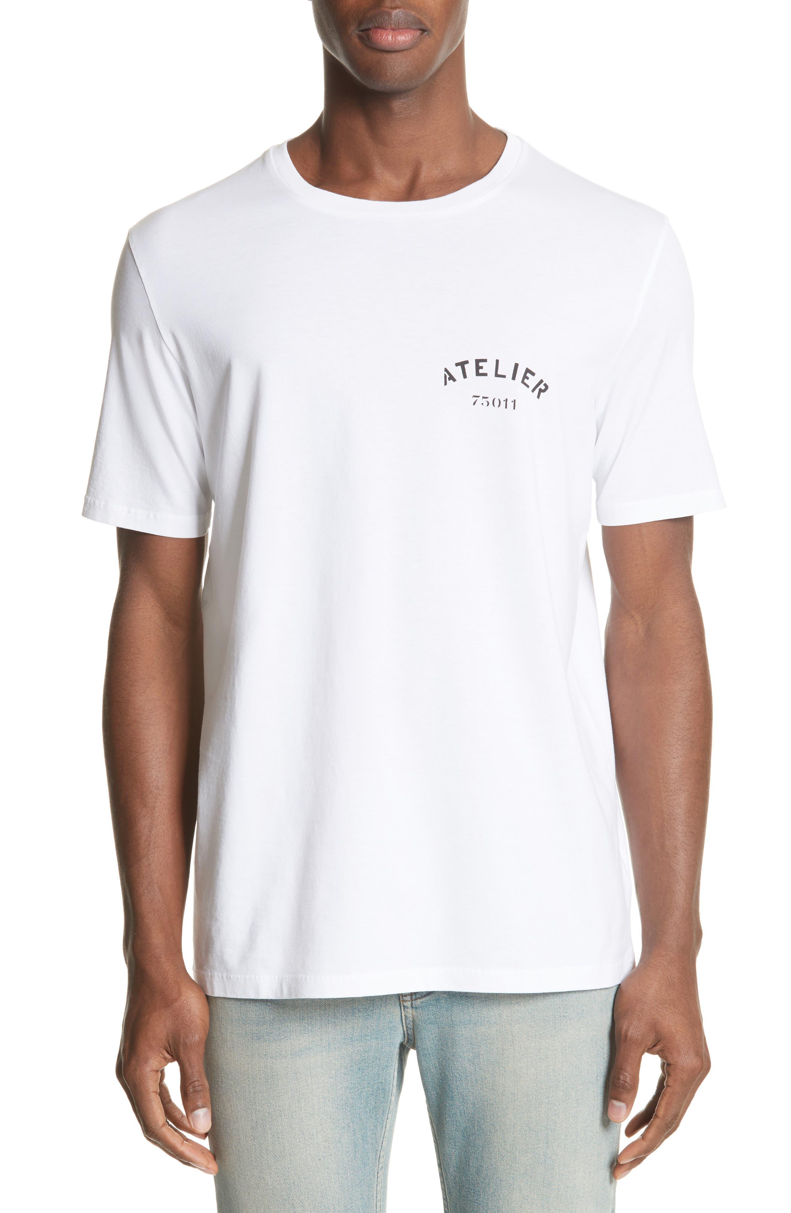 Atelier Graphic T-Shirt,                         Main,                         color, 100