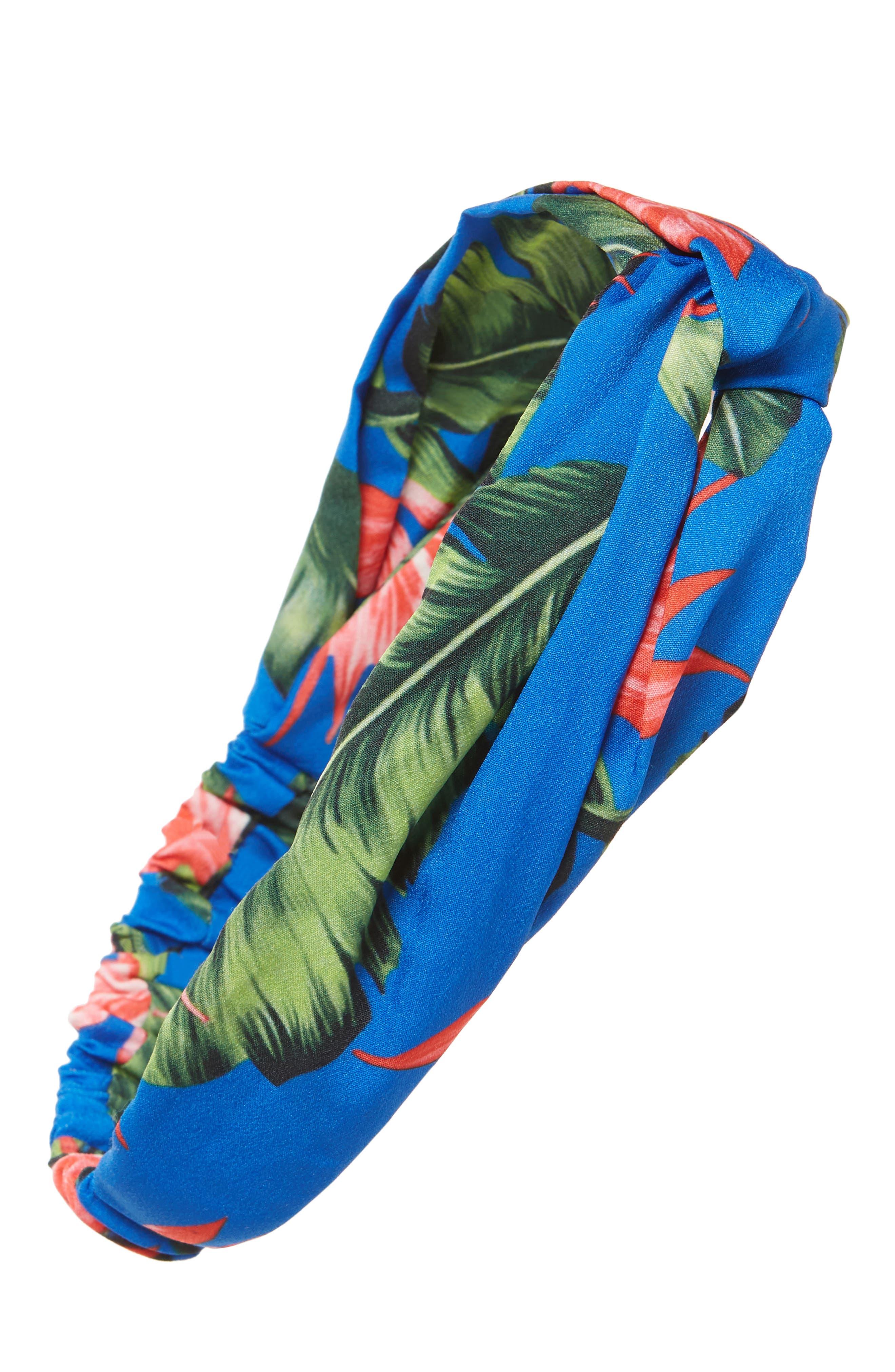 Tropical Twist Head Wrap,                             Main thumbnail 1, color,                             400