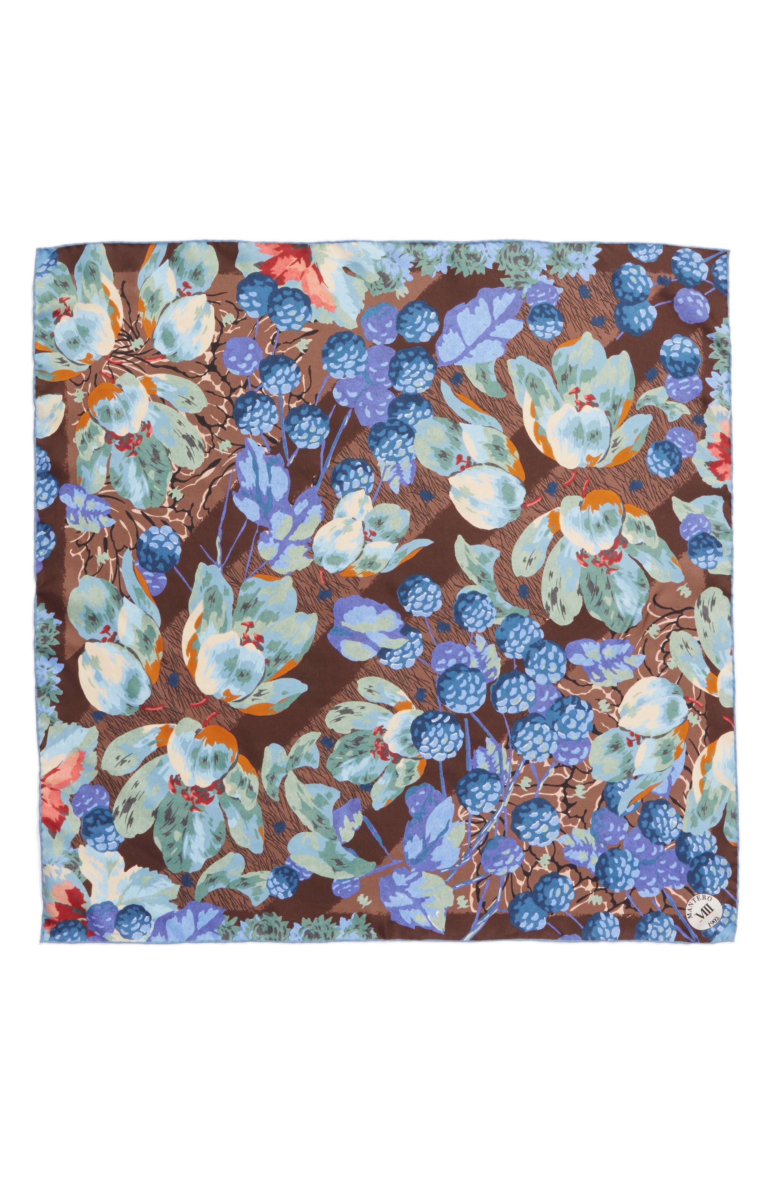 Confettura Square Silk Scarf,                             Main thumbnail 2, color,