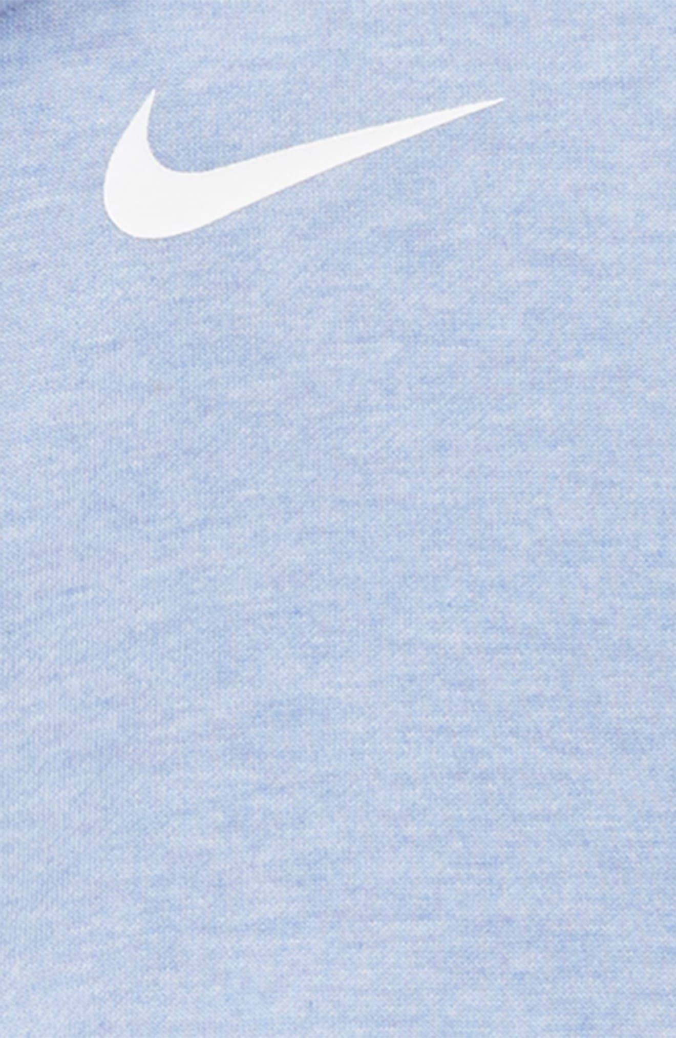 FZ Core Studio Dry Zip Hoodie,                             Alternate thumbnail 2, color,                             ROYAL PULSE/ HEATHER/ WHITE
