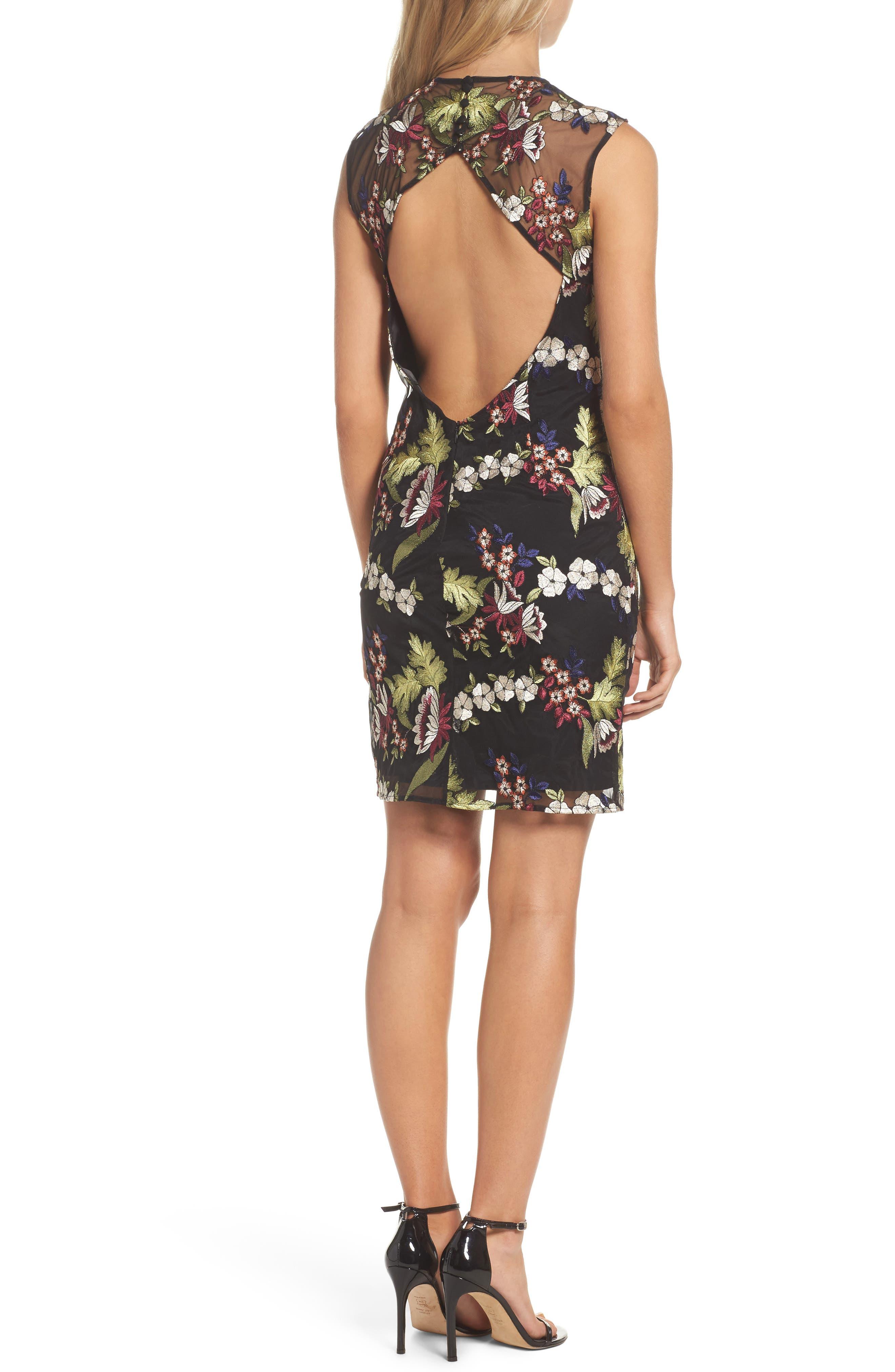 Jade Lace Dress,                             Alternate thumbnail 2, color,                             001