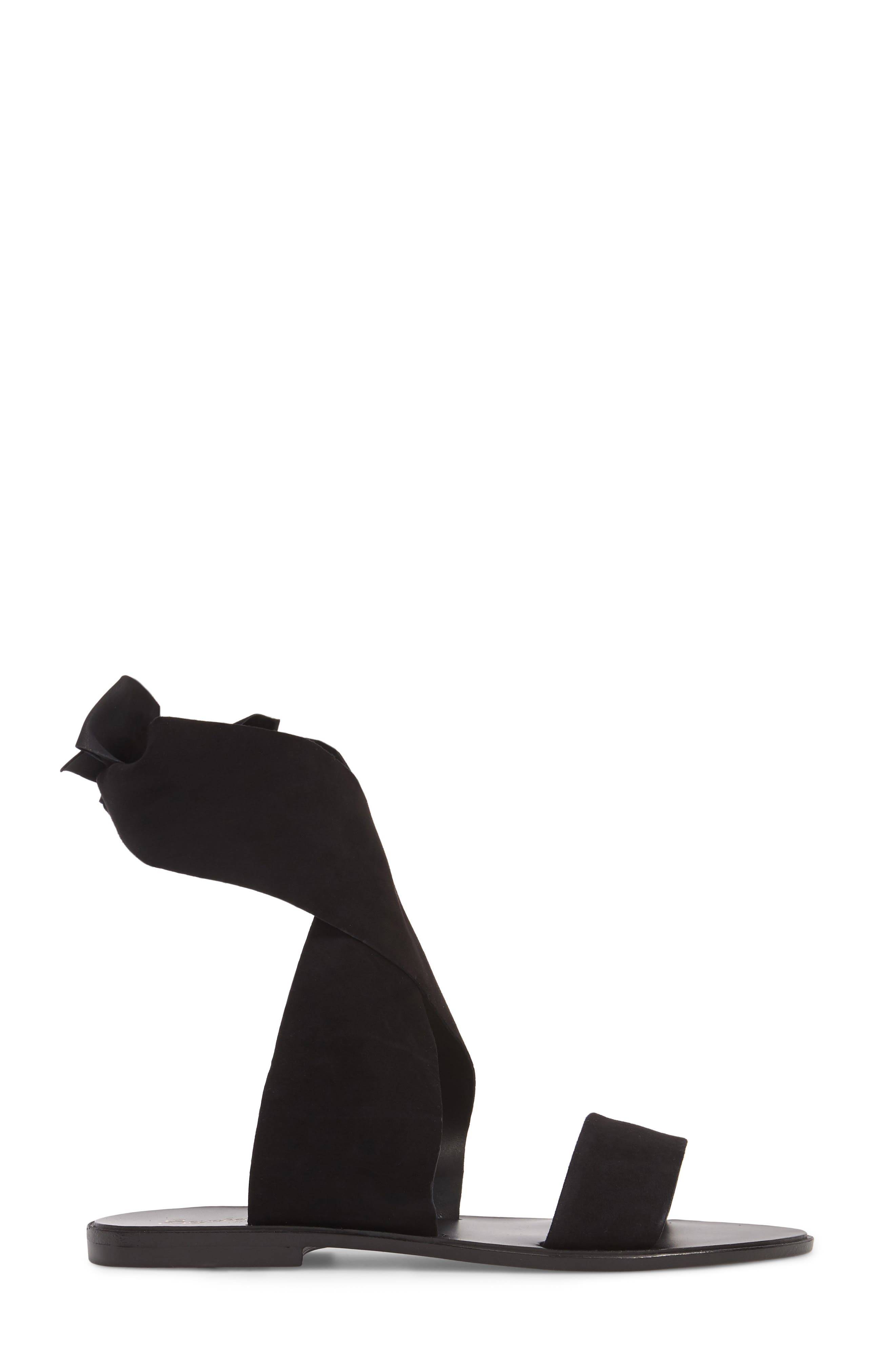 Cruisin Ankle Wrap Sandal,                             Alternate thumbnail 3, color,                             001