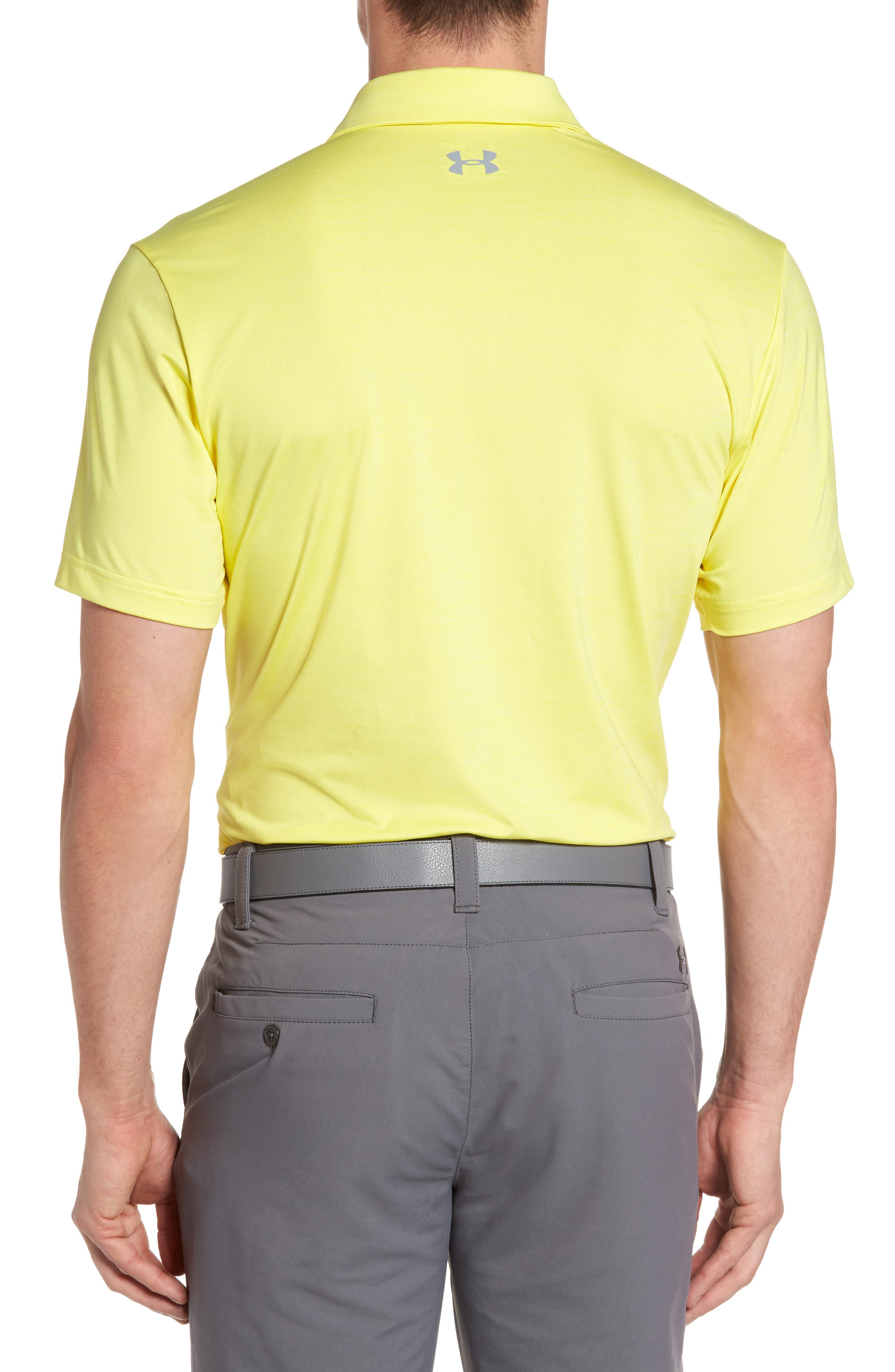 'Playoff' Loose Fit Short Sleeve Polo,                             Alternate thumbnail 111, color,