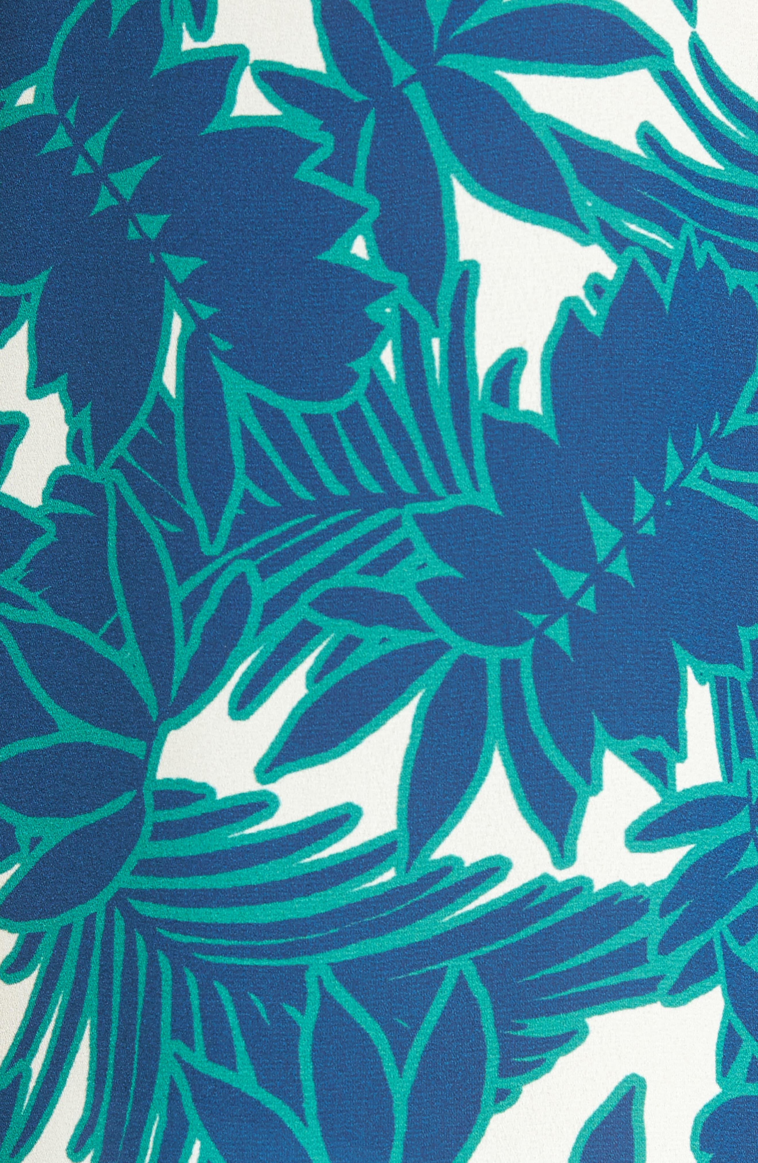 Pleat Back Sleeveless Split Neck Blouse,                             Alternate thumbnail 267, color,