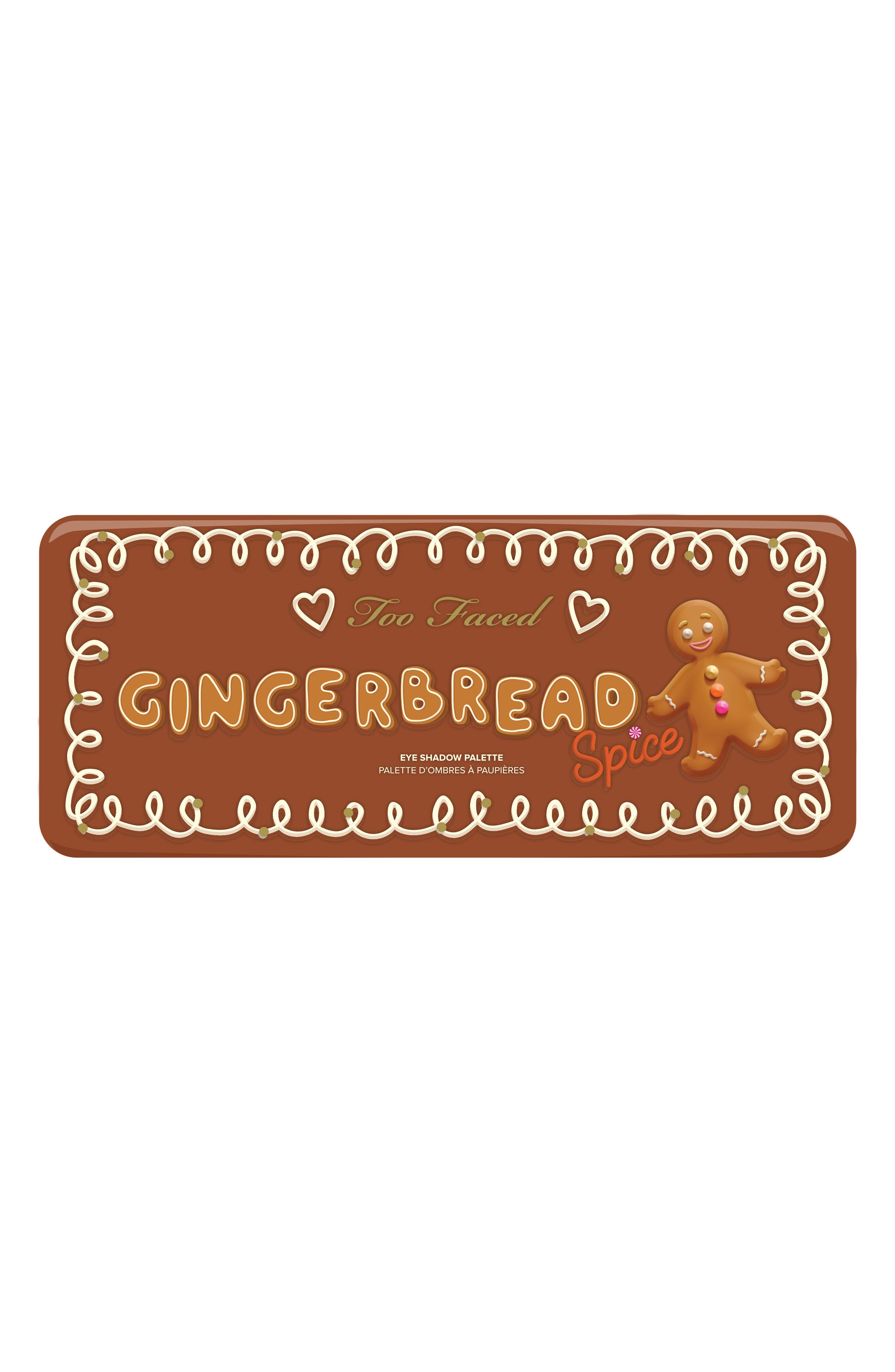 TOO FACED,                             Gingerbread Spice Palette,                             Alternate thumbnail 5, color,                             220
