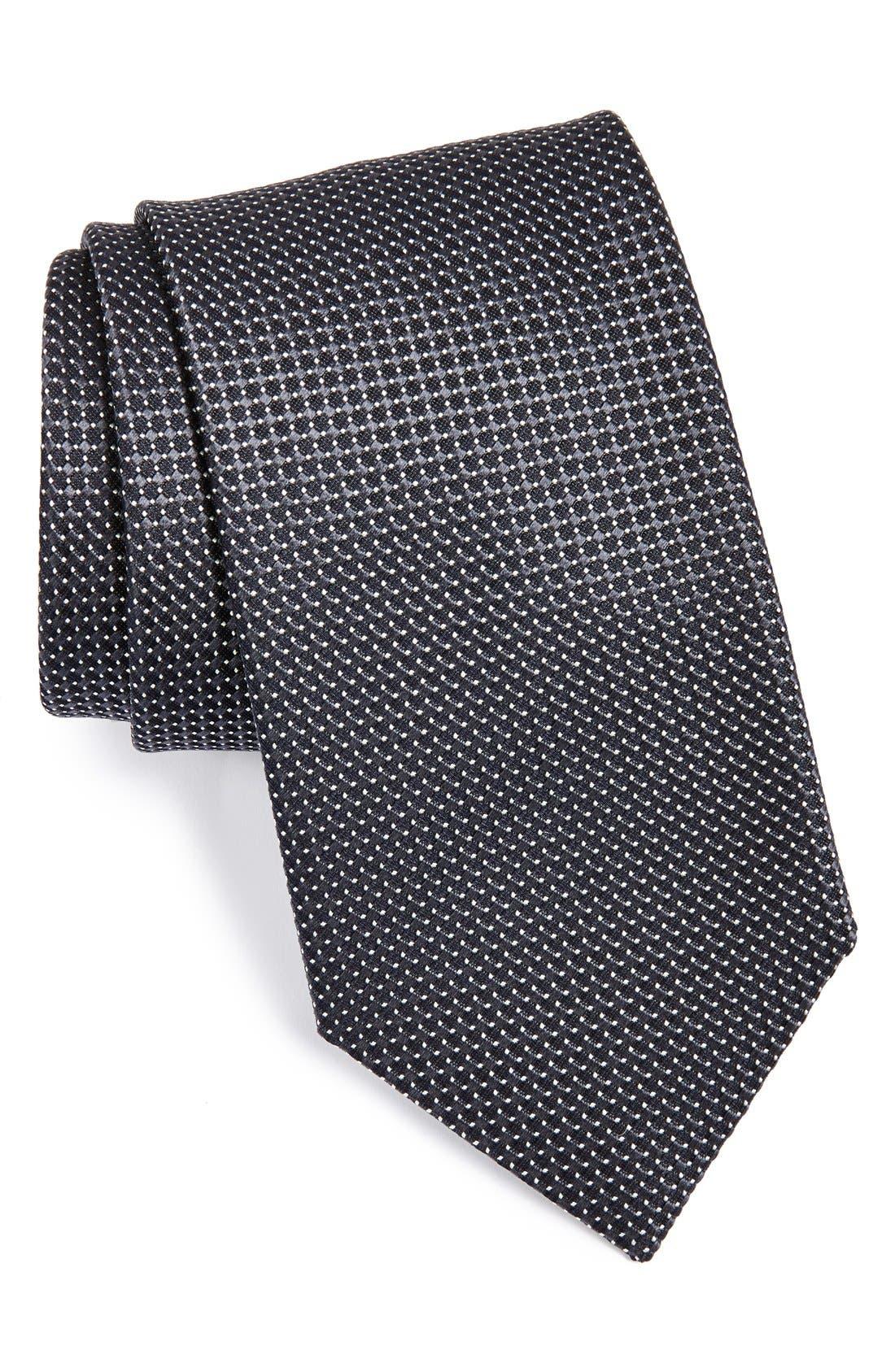 Silk Dot Tie,                             Main thumbnail 1, color,                             073