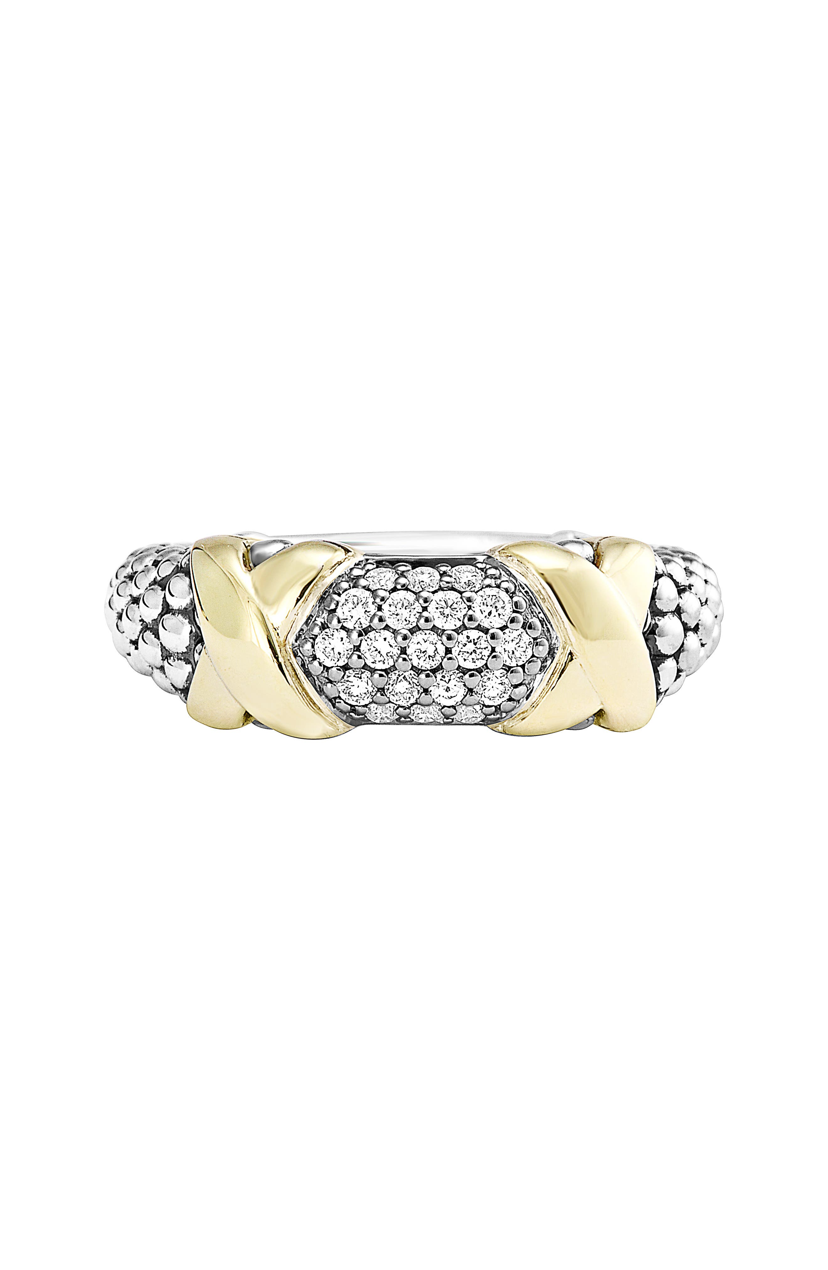 'Diamond Luxe' Ring,                             Alternate thumbnail 3, color,                             040